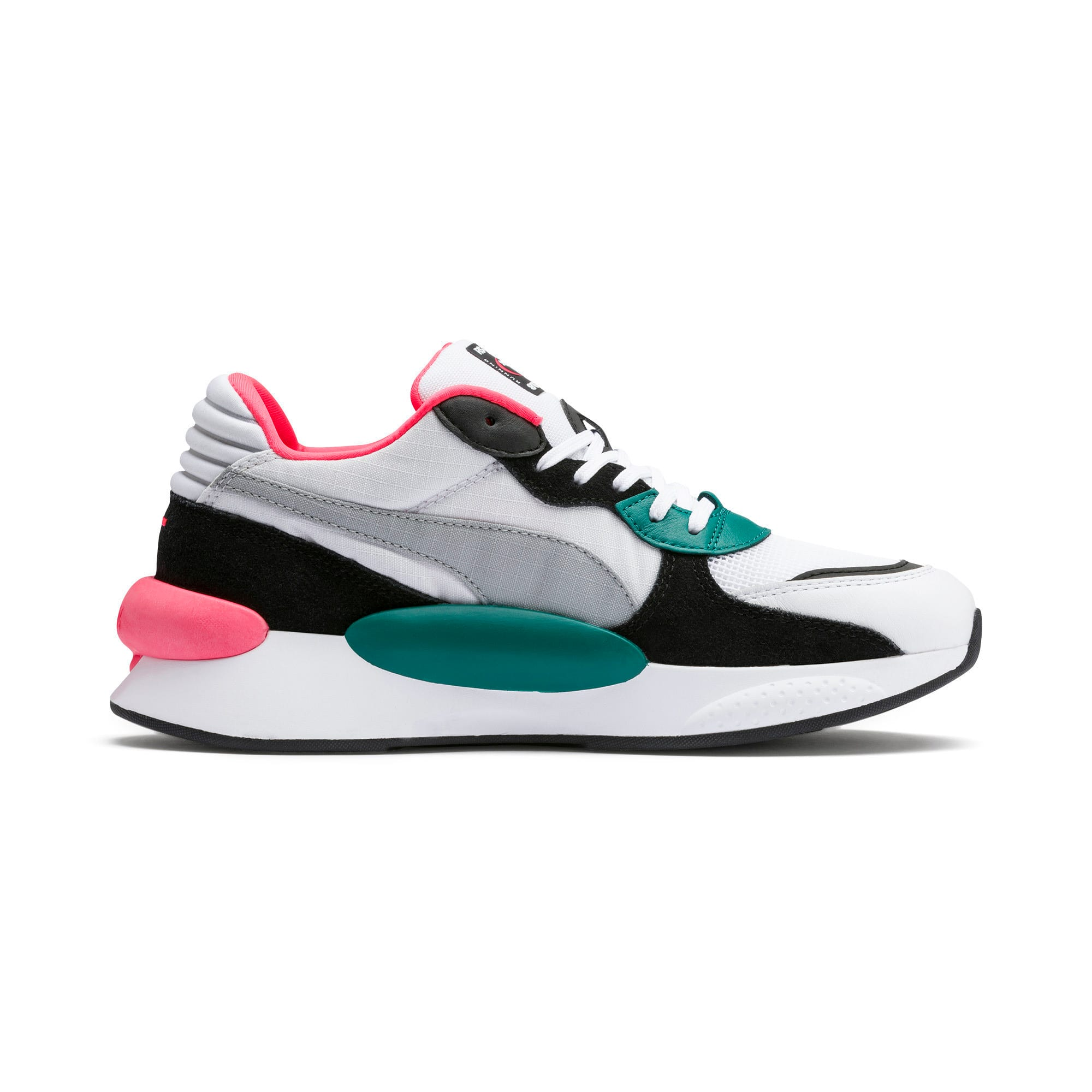 Thumbnail 5 van RS 9.8 Space sportschoenen, Puma White-blauwgroen, medium