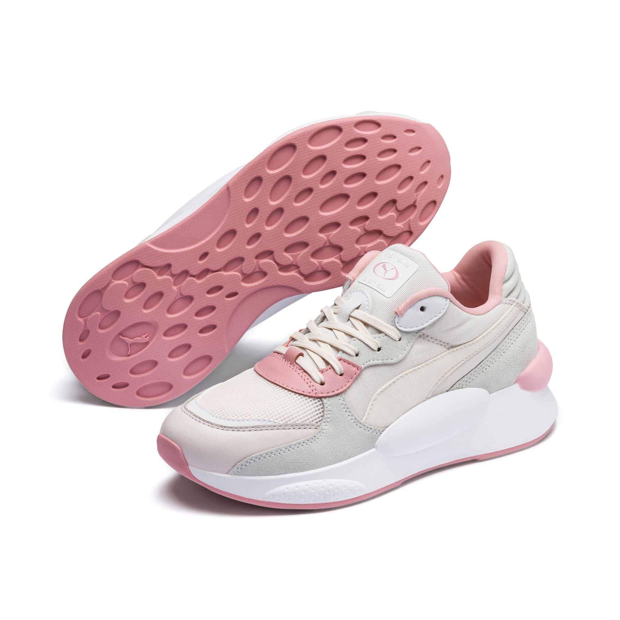 Thumbnail 2 van RS 9.8 Space sportschoenen, Pastel Parchment-Puma White, medium