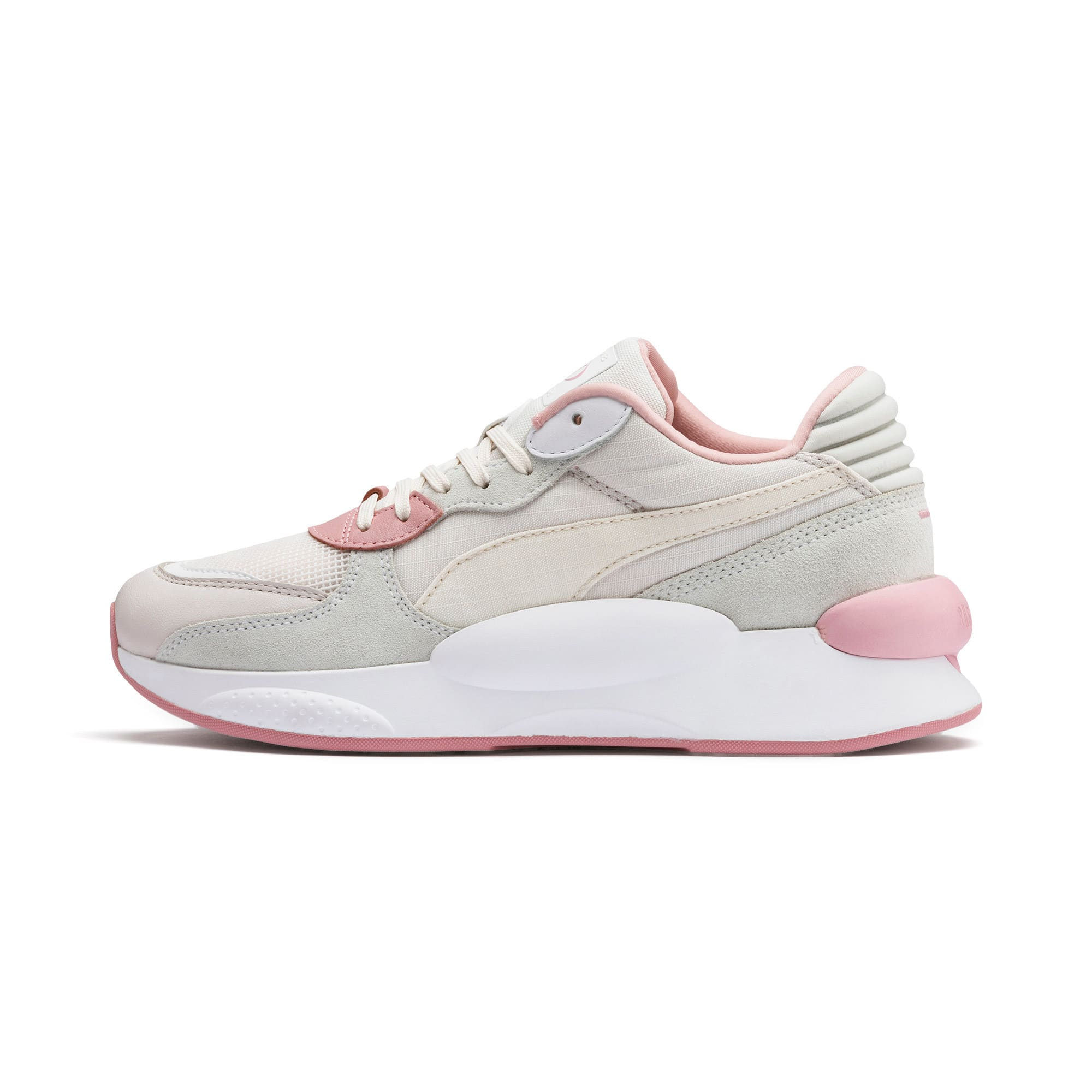 Thumbnail 1 van RS 9.8 Space sportschoenen, Pastel Parchment-Puma White, medium