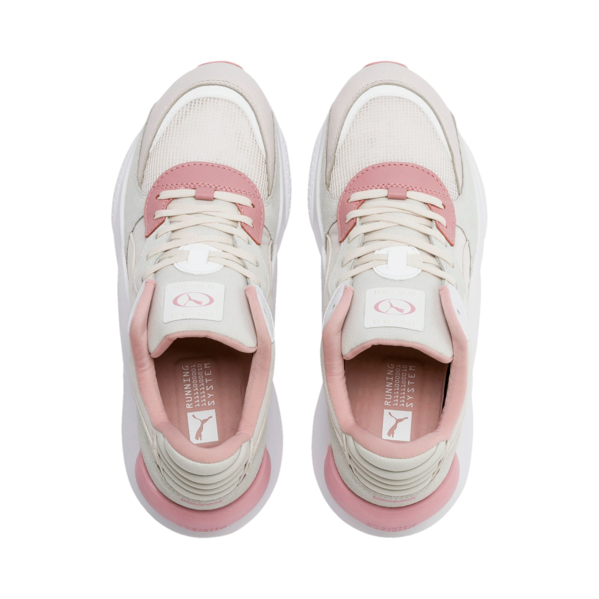 Thumbnail 6 van RS 9.8 Space sportschoenen, Pastel Parchment-Puma White, medium