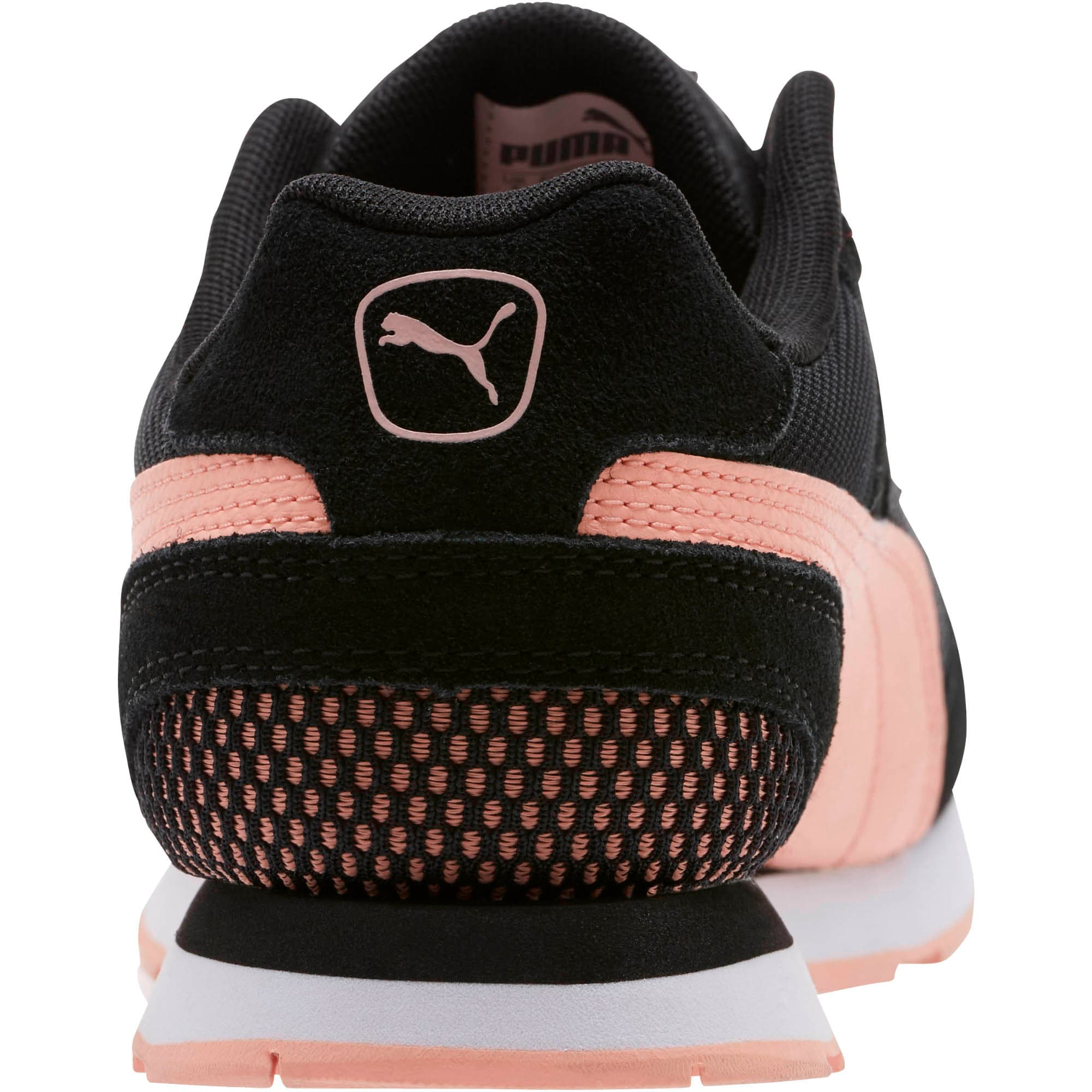 Thumbnail 3 of Vista Women's Sneakers, Puma Black-Peach Bud, medium