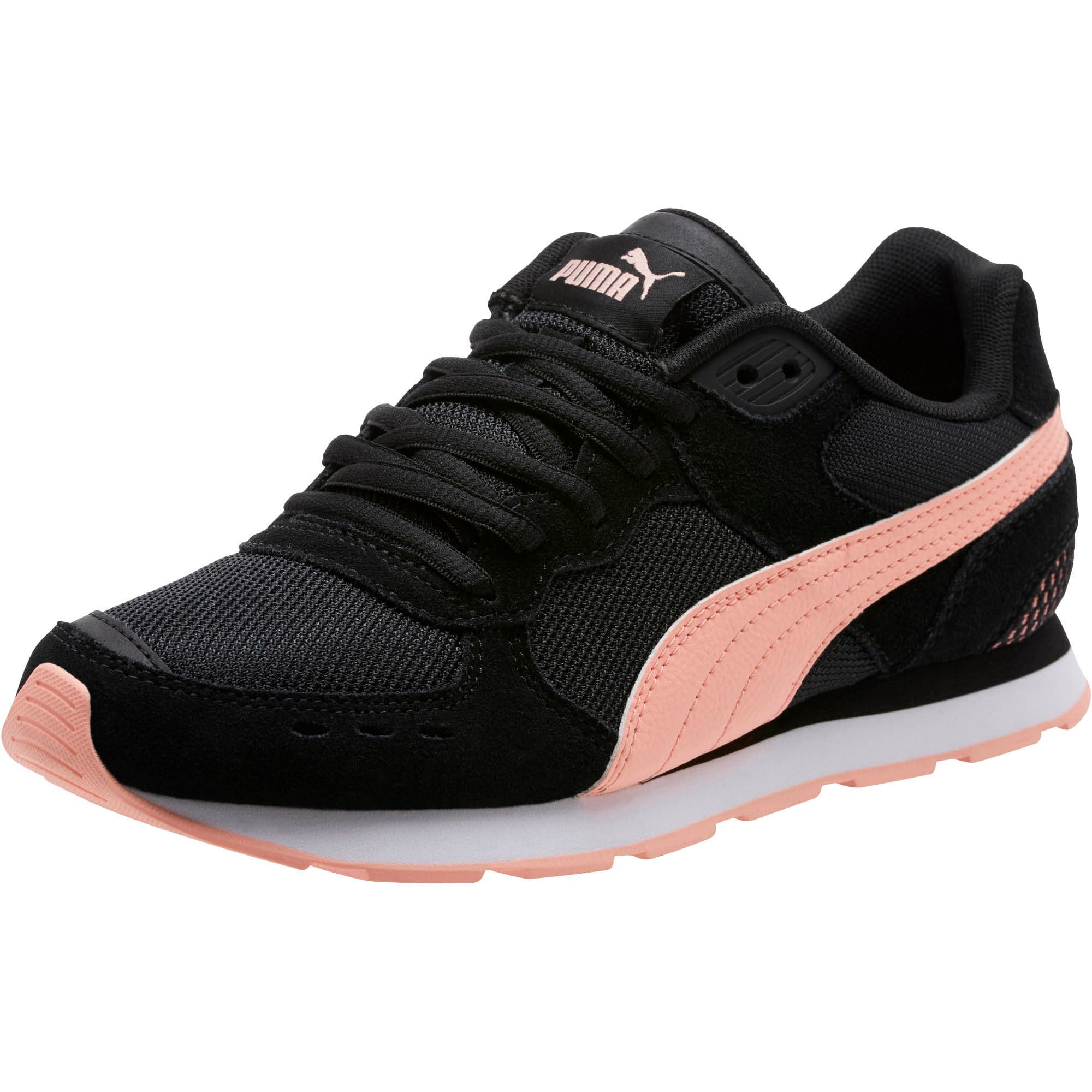Thumbnail 1 of Vista Women's Sneakers, Puma Black-Peach Bud, medium