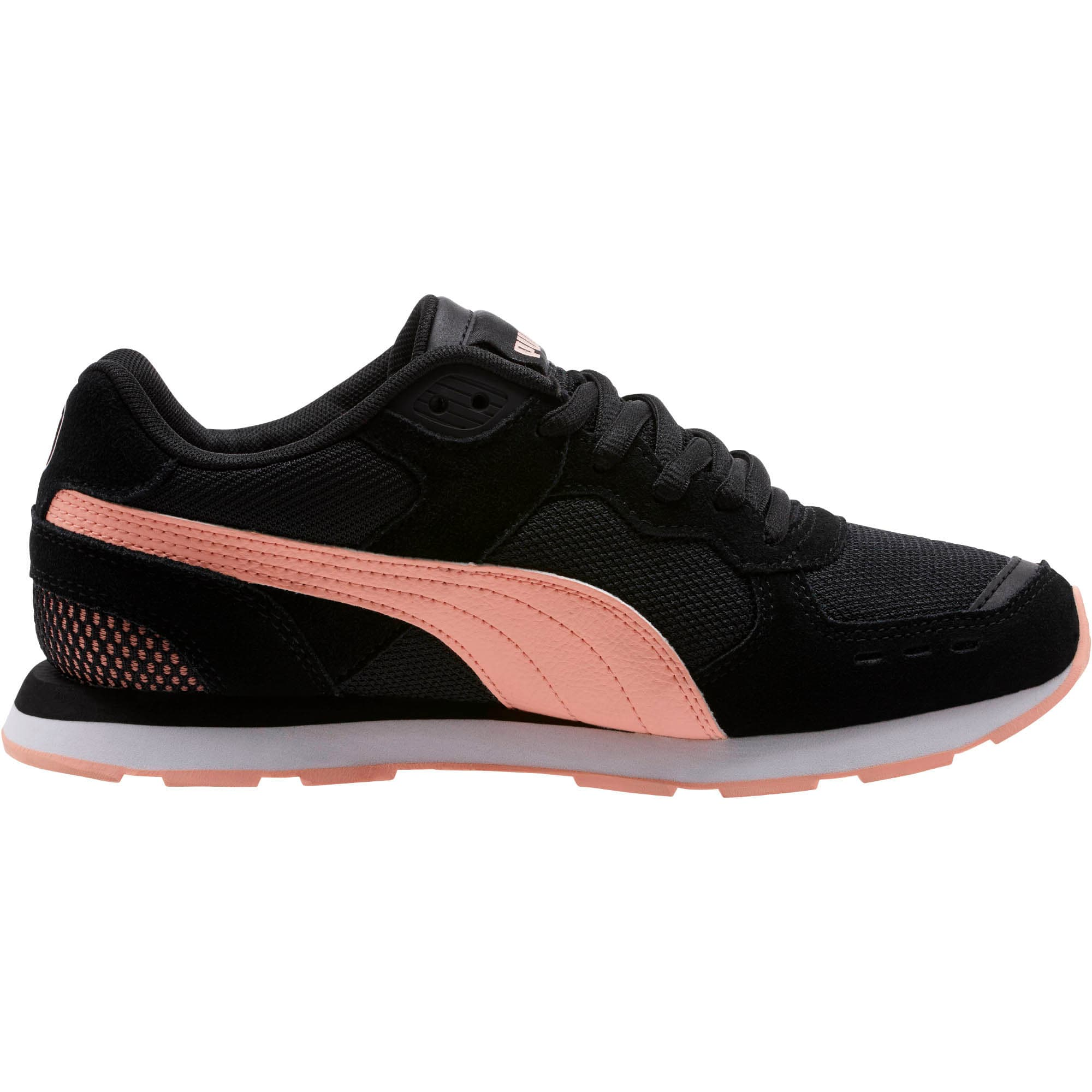 Thumbnail 4 of Vista Women's Sneakers, Puma Black-Peach Bud, medium