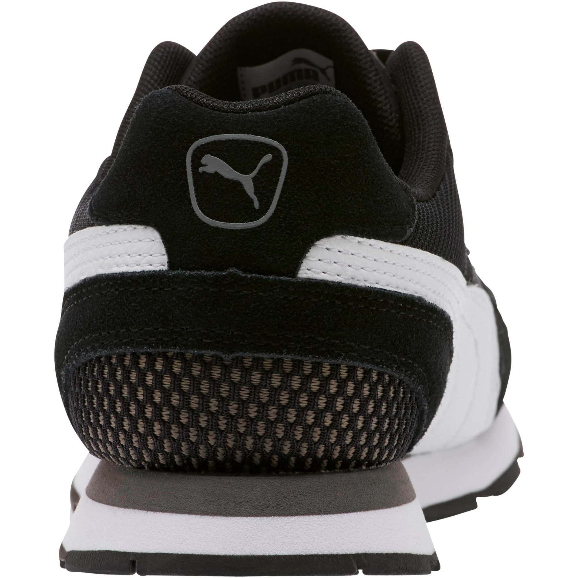 Vista Women's Sneakers, Black-White-Charcoal Gray, large
