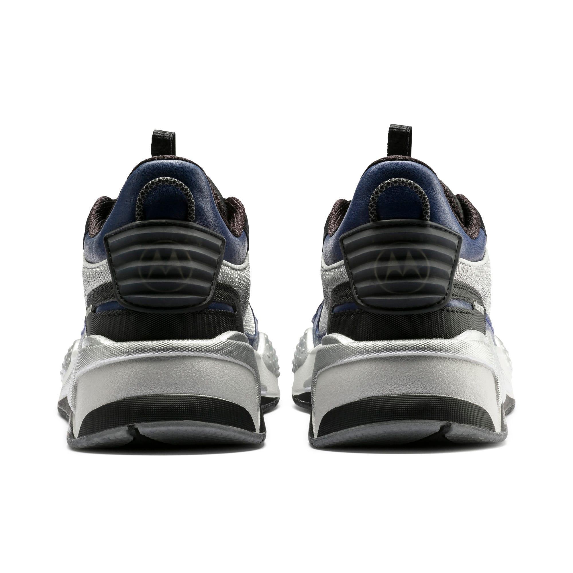 Thumbnail 3 of RS-X Tech Motorola Sneakers, Puma Silver-Sodalite Blue, medium