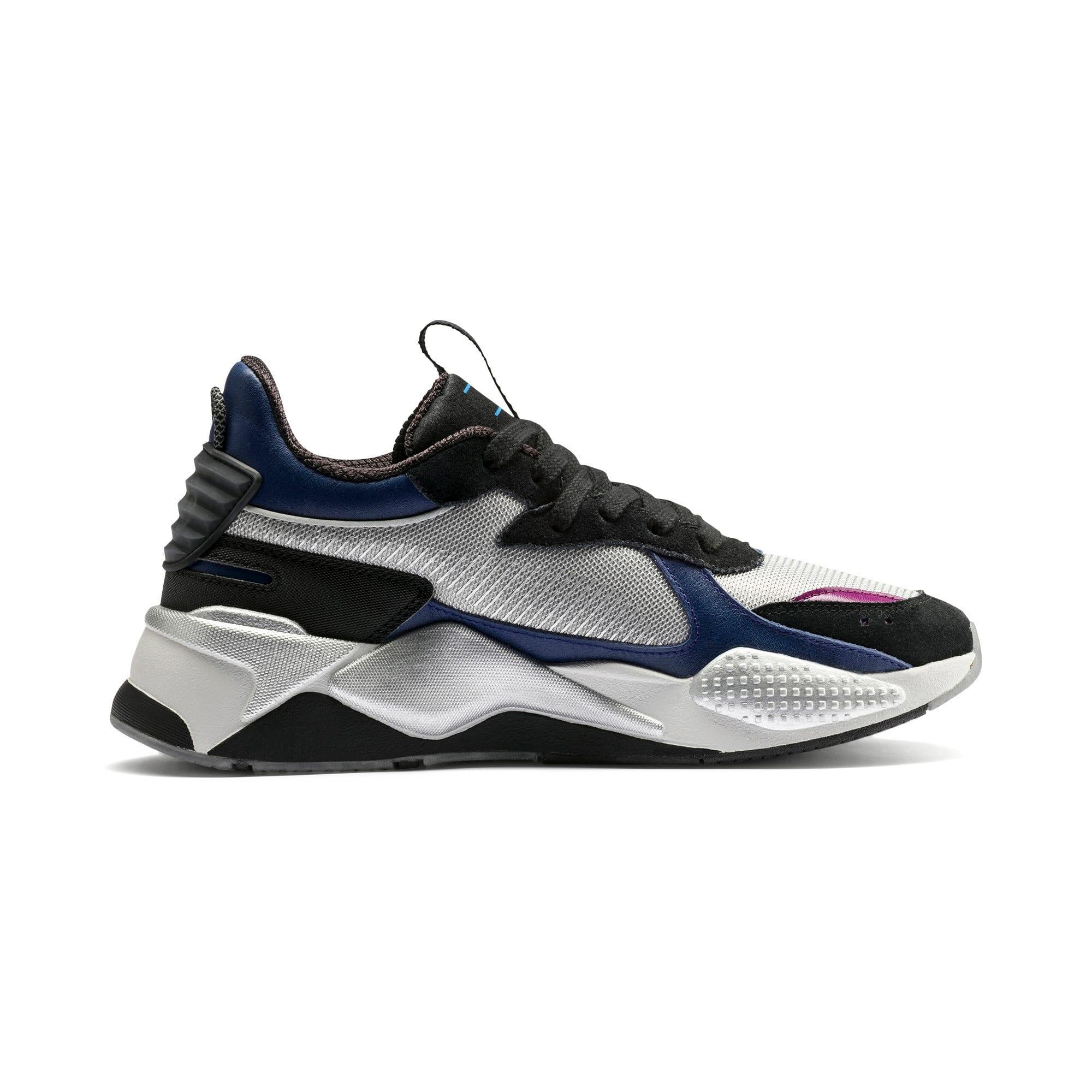Thumbnail 5 of RS-X Tech Motorola Sneakers, Puma Silver-Sodalite Blue, medium