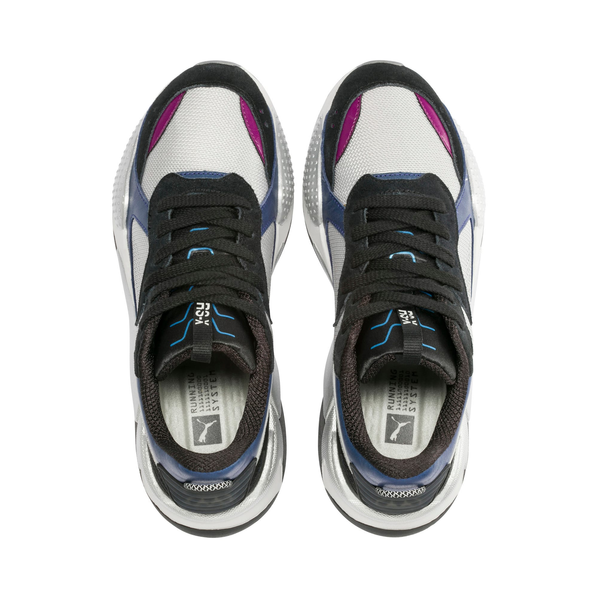 Thumbnail 6 of RS-X Tech Motorola Sneakers, Puma Silver-Sodalite Blue, medium