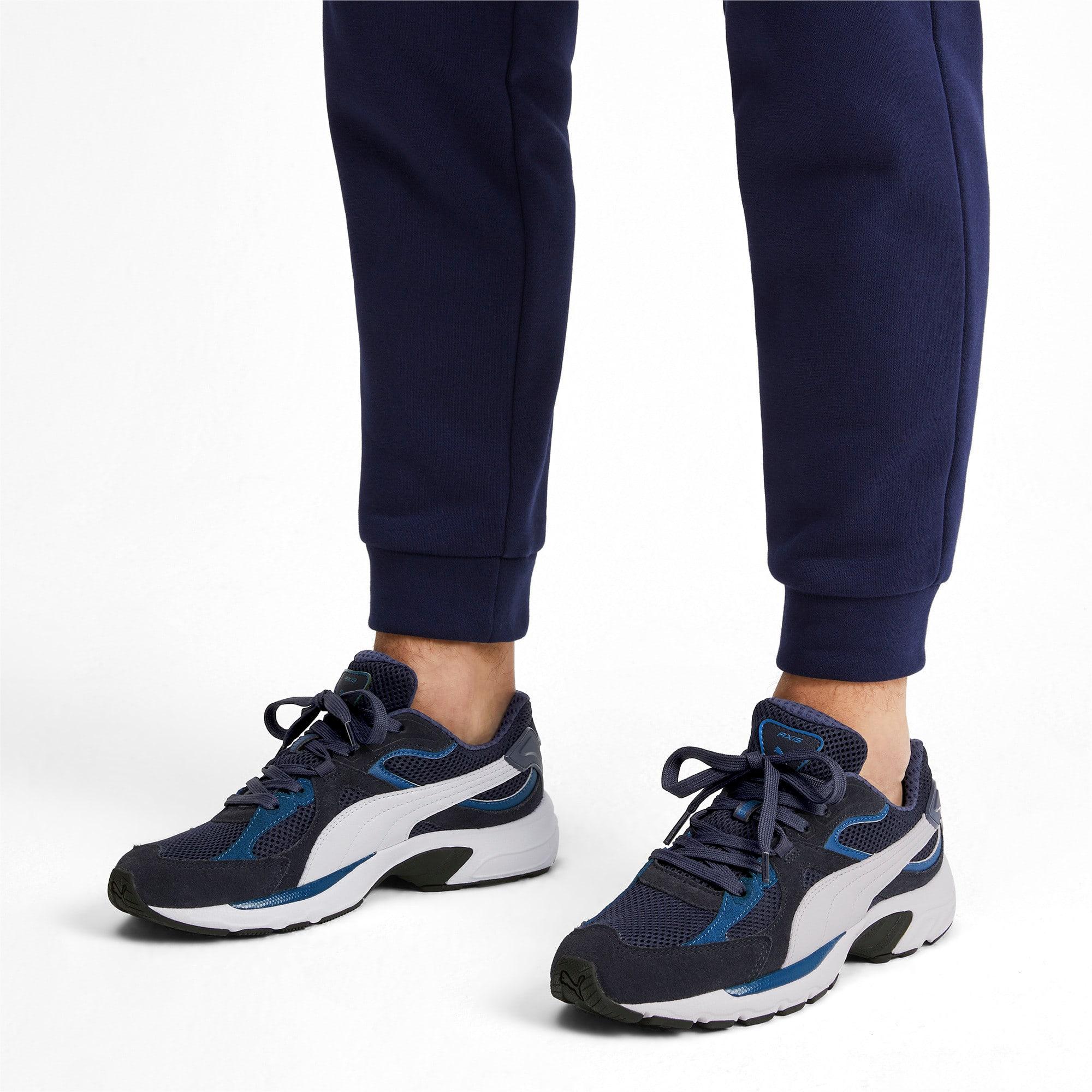 Miniatura 3 de Zapatos deportivos Axis Plus Suede, Peacoat-G Blue-White-Black, mediano