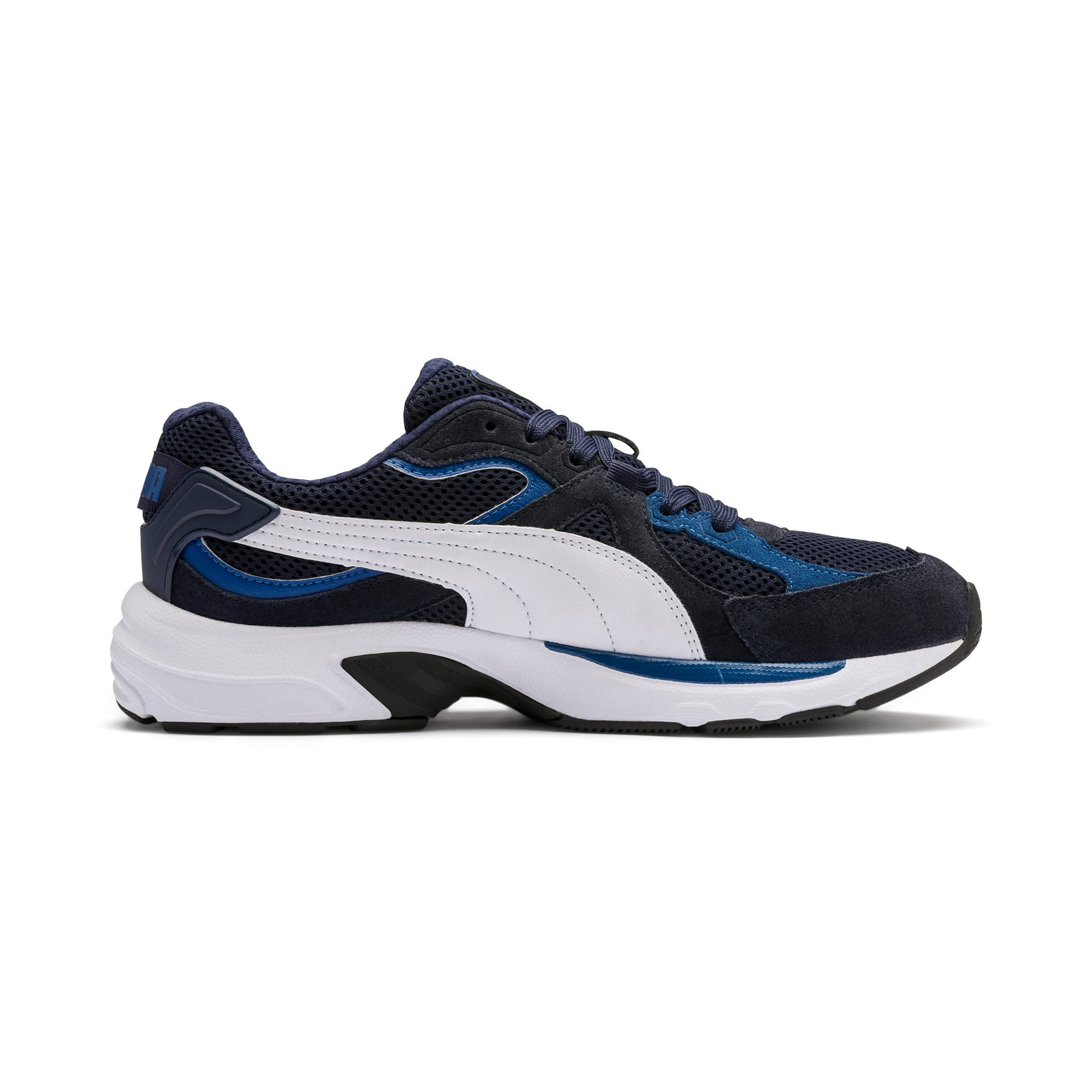 Miniatura 6 de Zapatos deportivos Axis Plus Suede, Peacoat-G Blue-White-Black, mediano