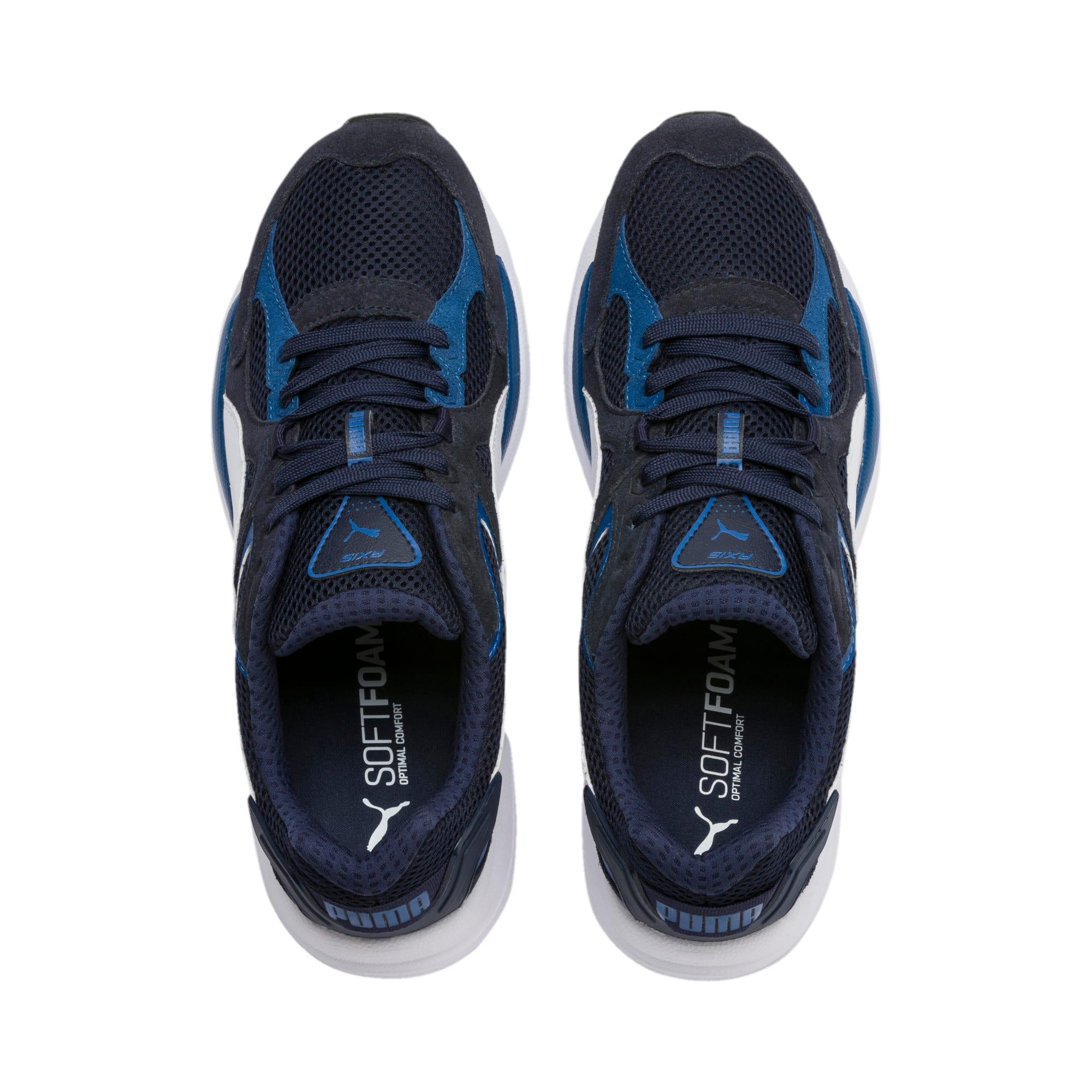 Miniatura 7 de Zapatos deportivos Axis Plus Suede, Peacoat-G Blue-White-Black, mediano