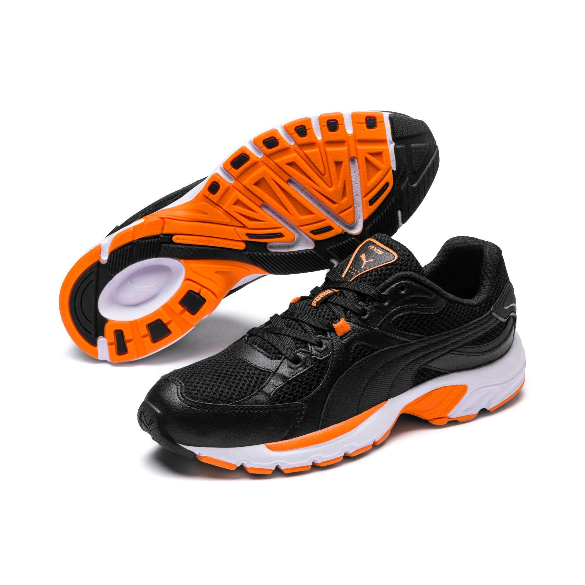 Thumbnail 2 of Axis Plus 90s Sneakers, Puma Black-Puma Black, medium