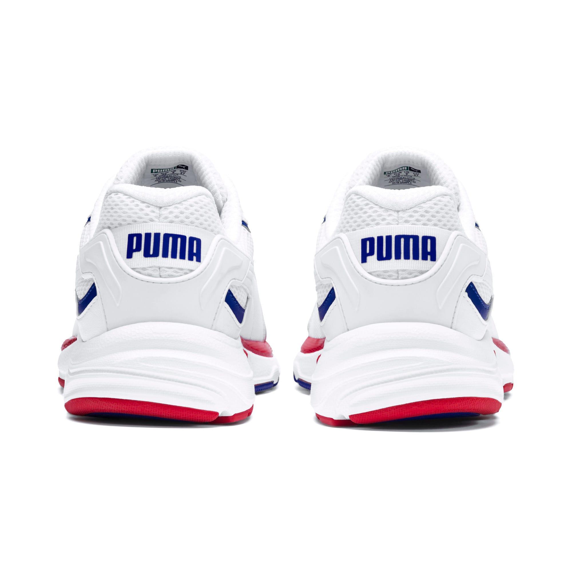 Thumbnail 3 of Axis Plus 90s Sneakers, Puma White-Puma White, medium