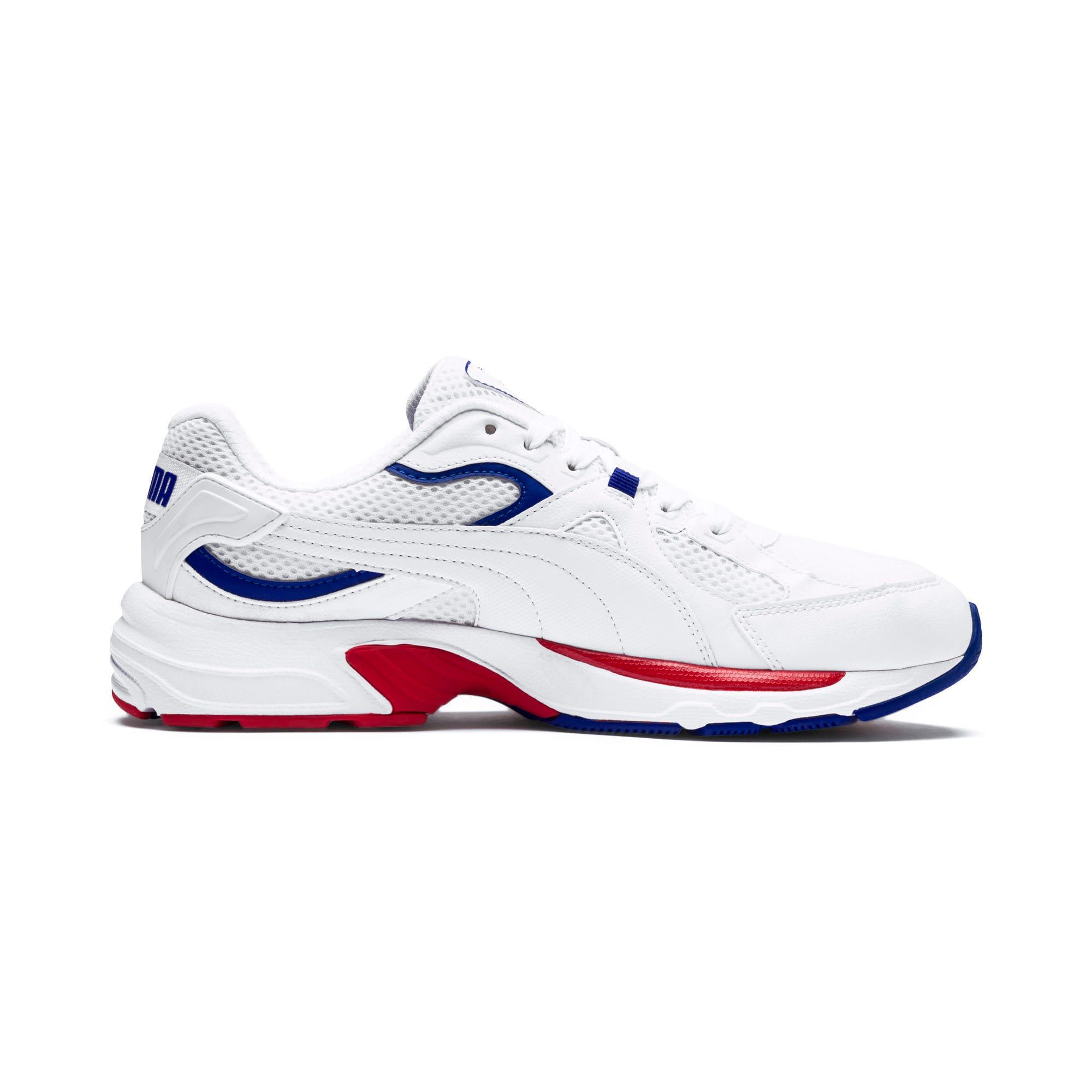 Thumbnail 5 of Axis Plus 90s Sneakers, Puma White-Puma White, medium