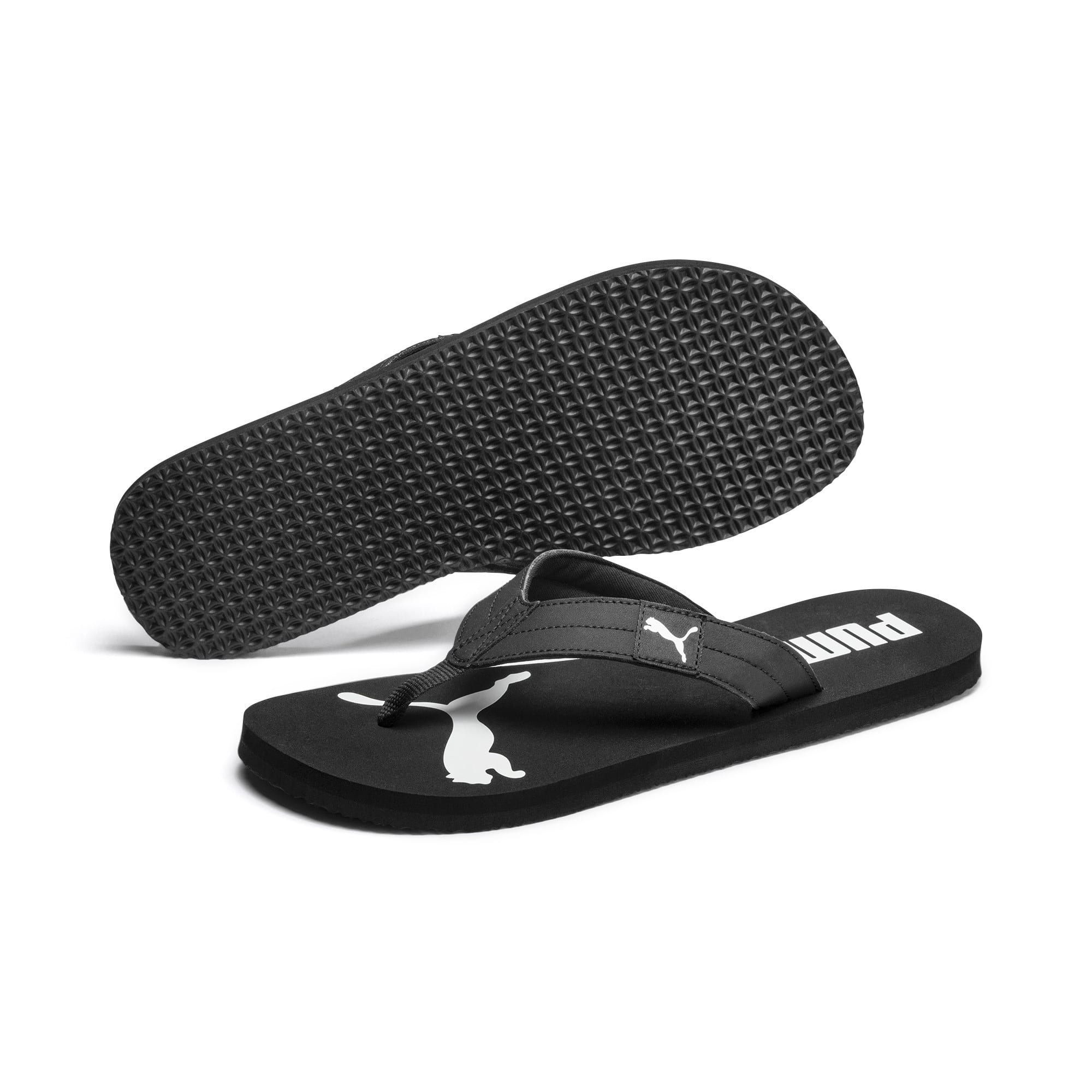 Thumbnail 2 of Cosy Flip Sandals, Puma Black-Puma White, medium