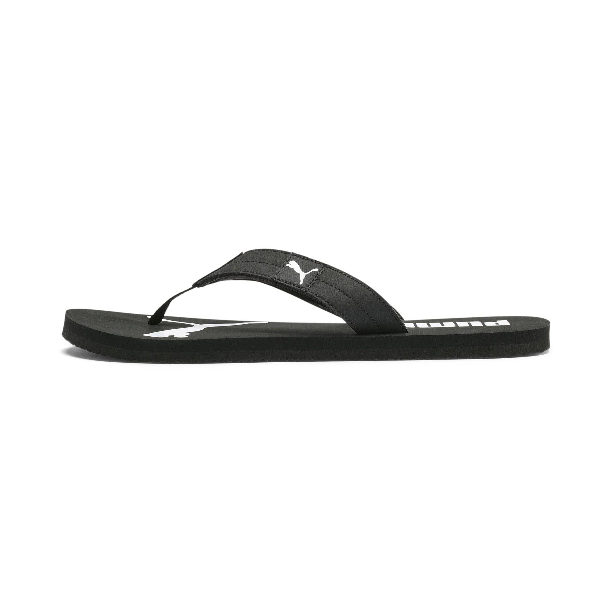 Thumbnail 1 of Cosy Flip Sandals, Puma Black-Puma White, medium