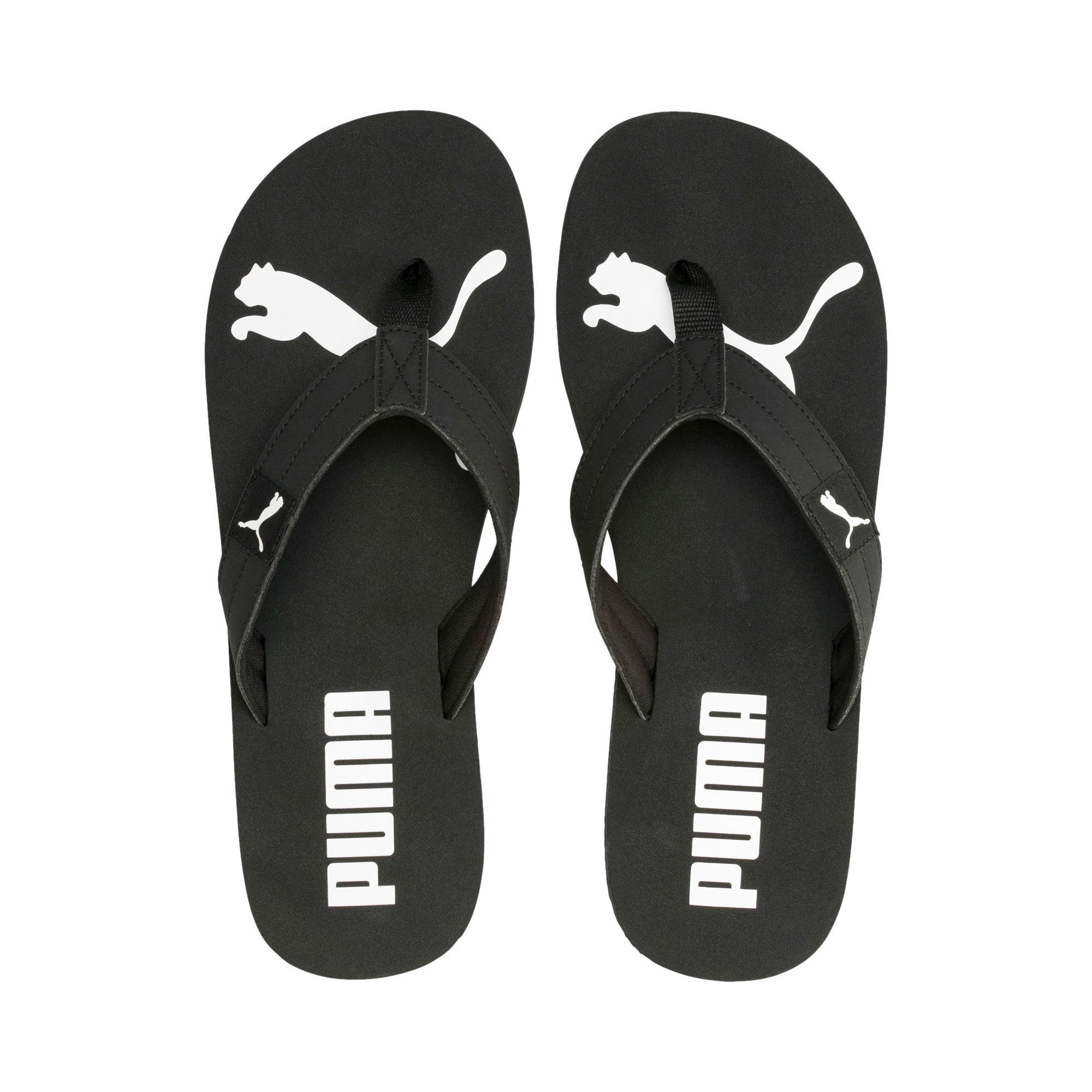 Thumbnail 6 of Cosy Flip Sandals, Puma Black-Puma White, medium