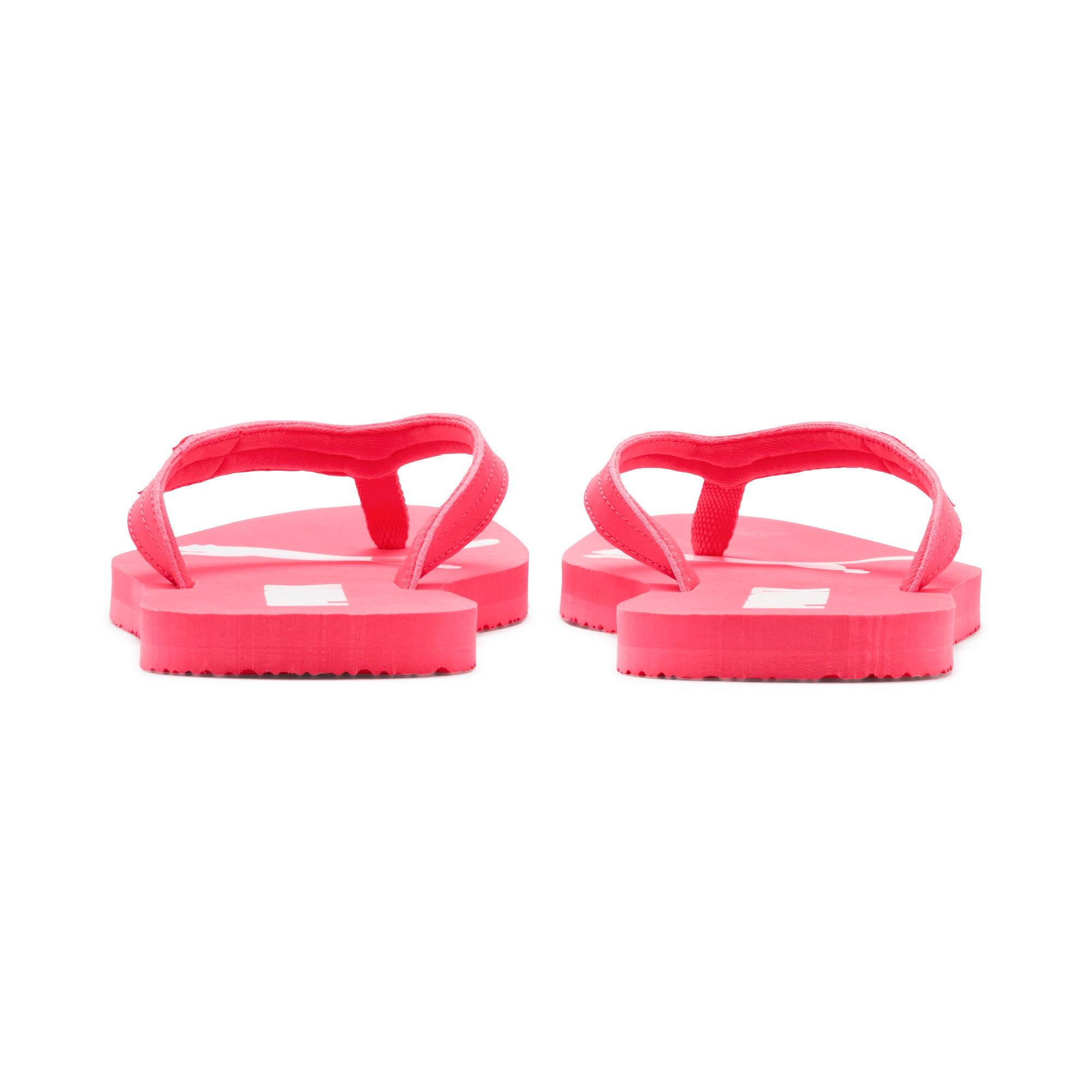 Thumbnail 3 of Cosy Flip Women's Sandals, Pink Alert-Puma White, medium
