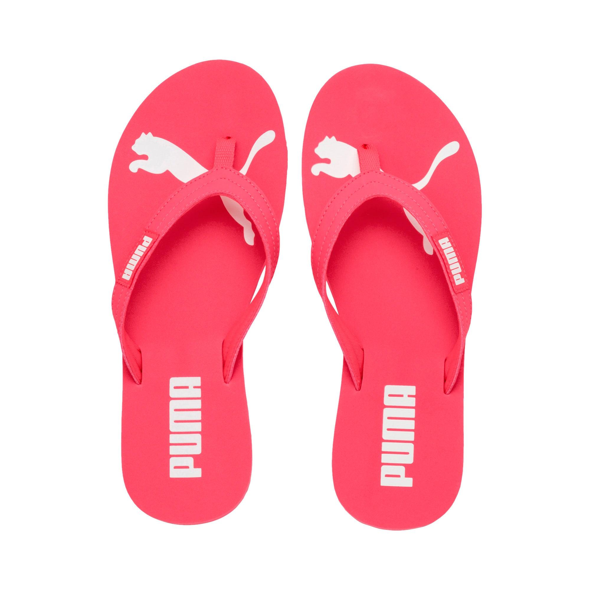 Thumbnail 6 of Cosy Flip Women's Sandals, Pink Alert-Puma White, medium