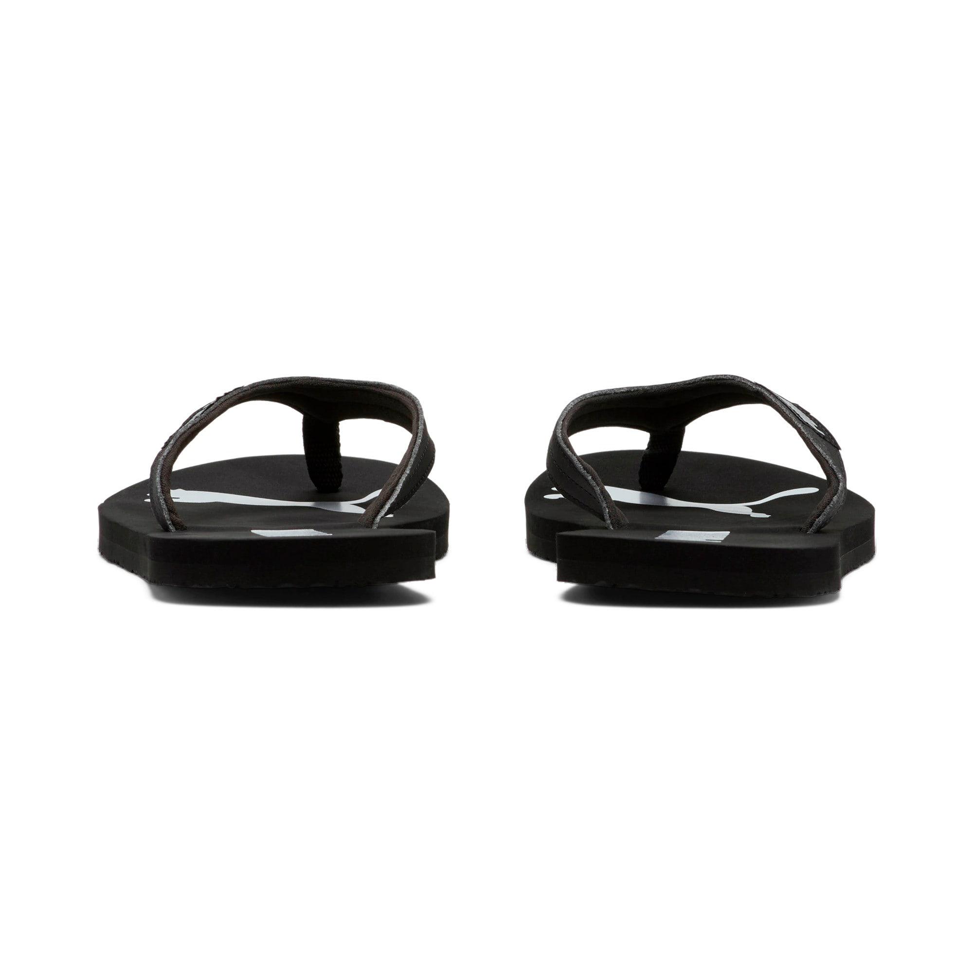 Miniatura 3 de Sandalias PUMA Cozy Flip para mujer, Puma Black-Puma Silver, mediano