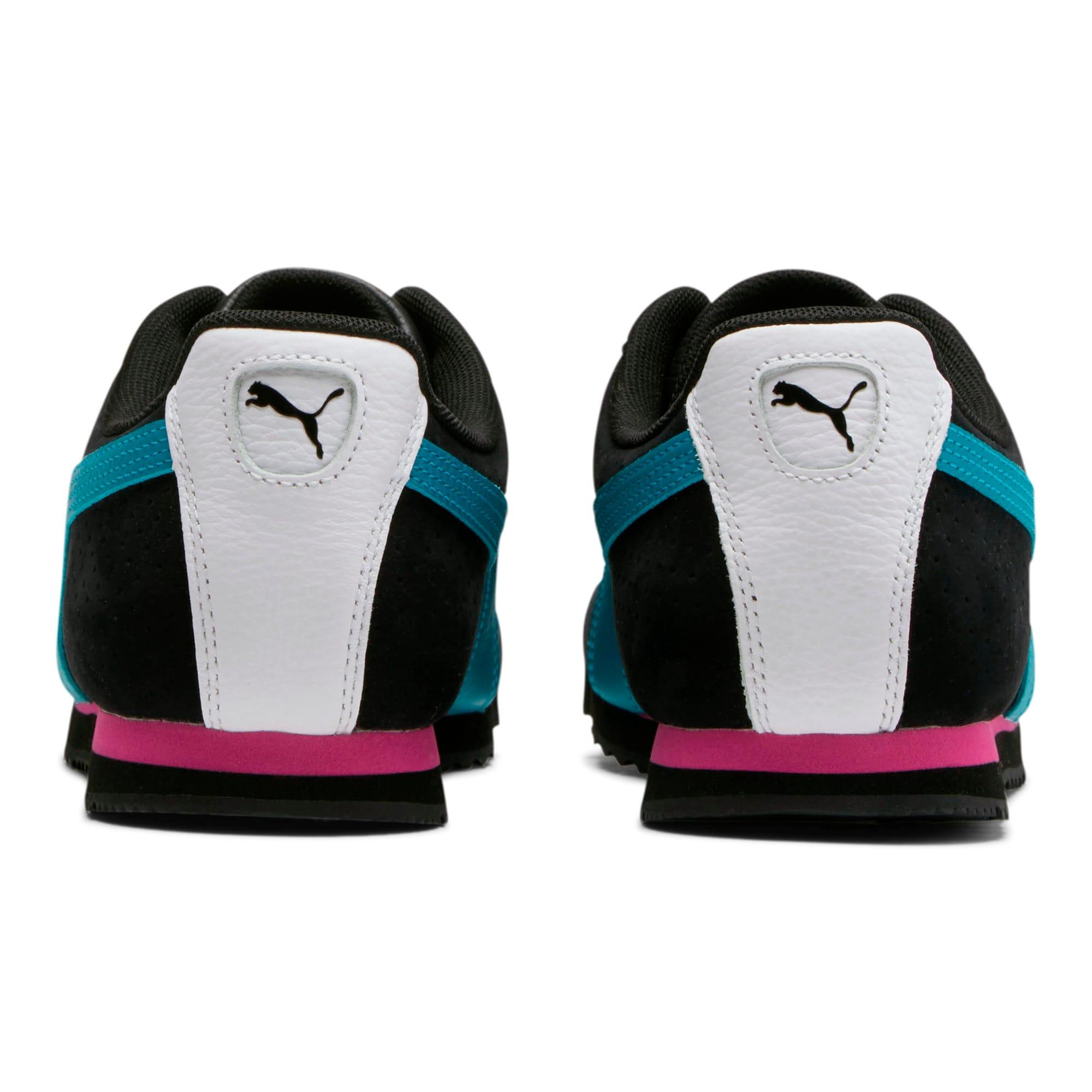 Thumbnail 3 of Roma XTG Perf Men's Sneakers, P Black-P White-Carib Sea, medium