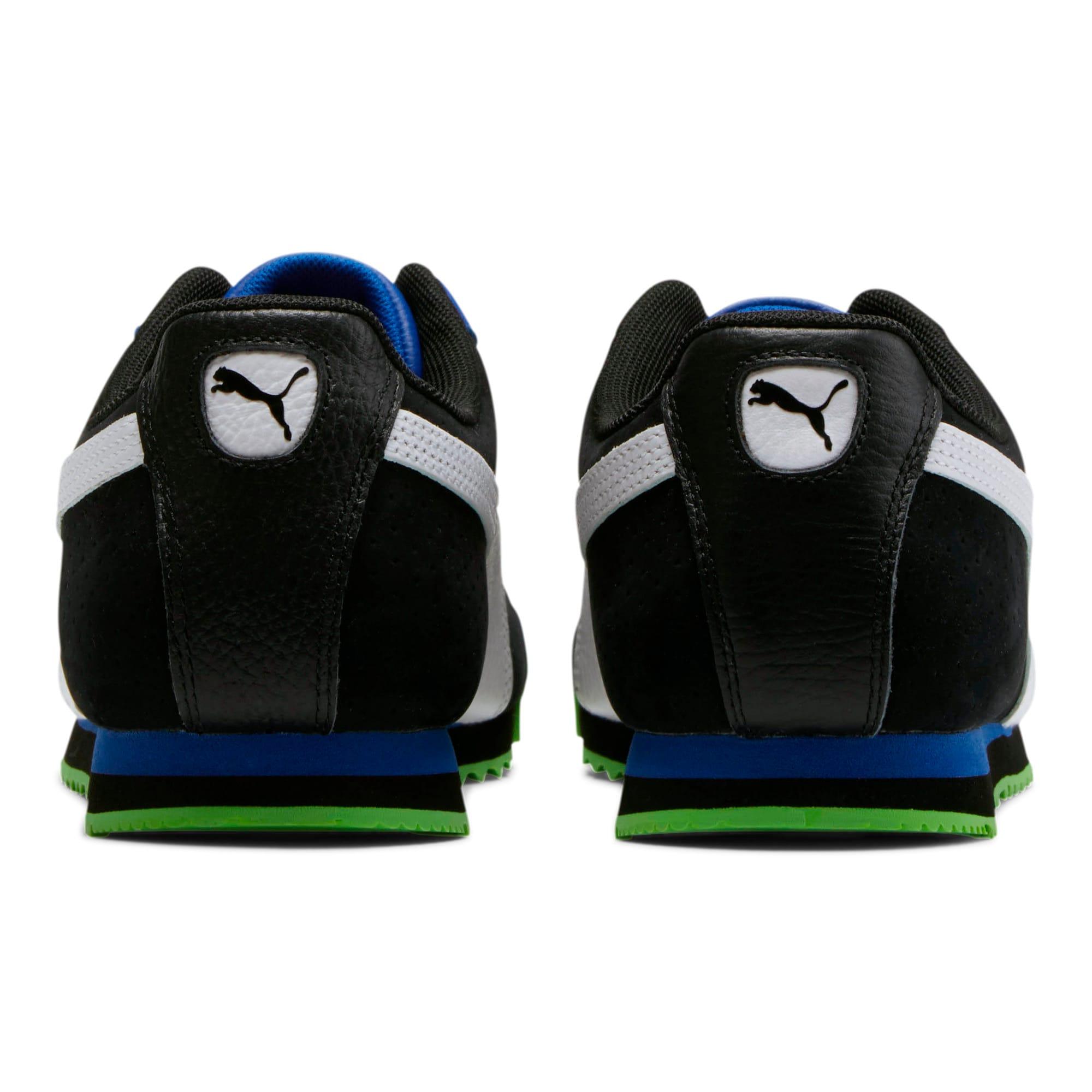 Thumbnail 3 of Roma XTG Perf Men's Sneakers, Puma Black-Surf The Web, medium