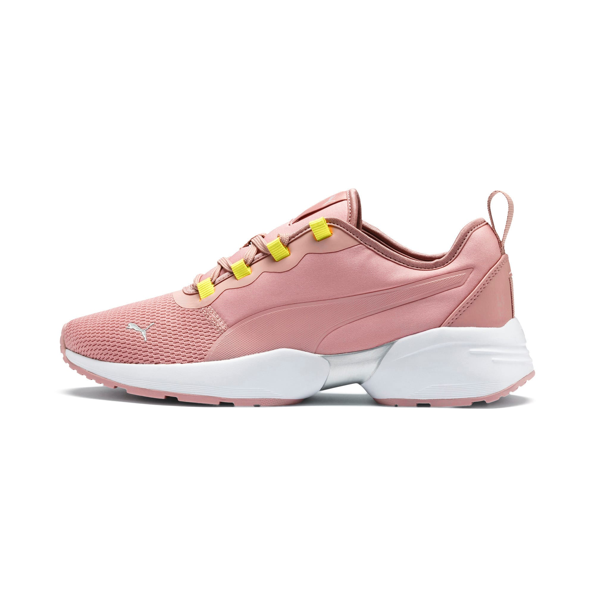 Thumbnail 1 of Sirena Sport Shift Women's Sneakers, Bridal Rose-Yellow Alert, medium