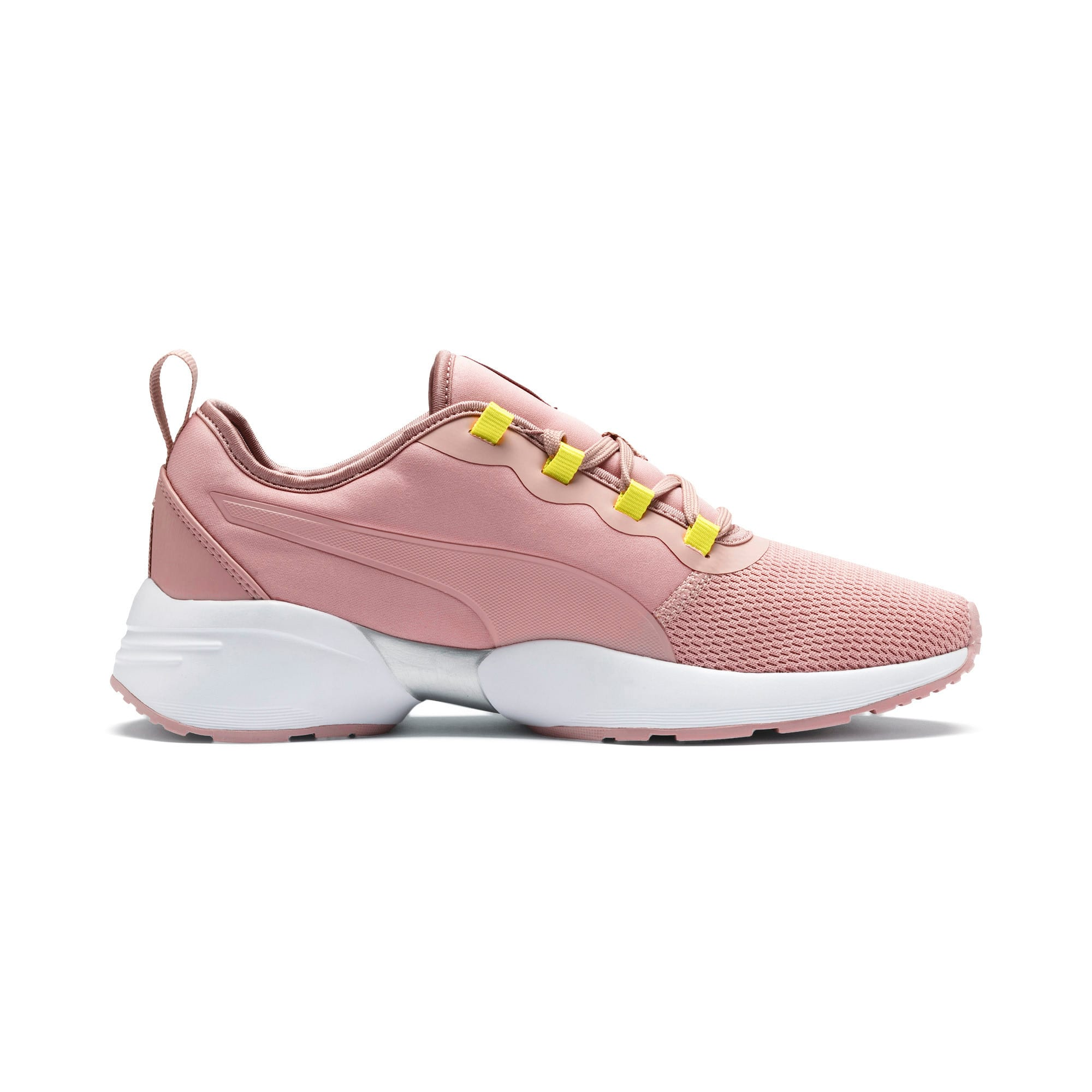 Thumbnail 6 of Sirena Sport Shift Women's Sneakers, Bridal Rose-Yellow Alert, medium