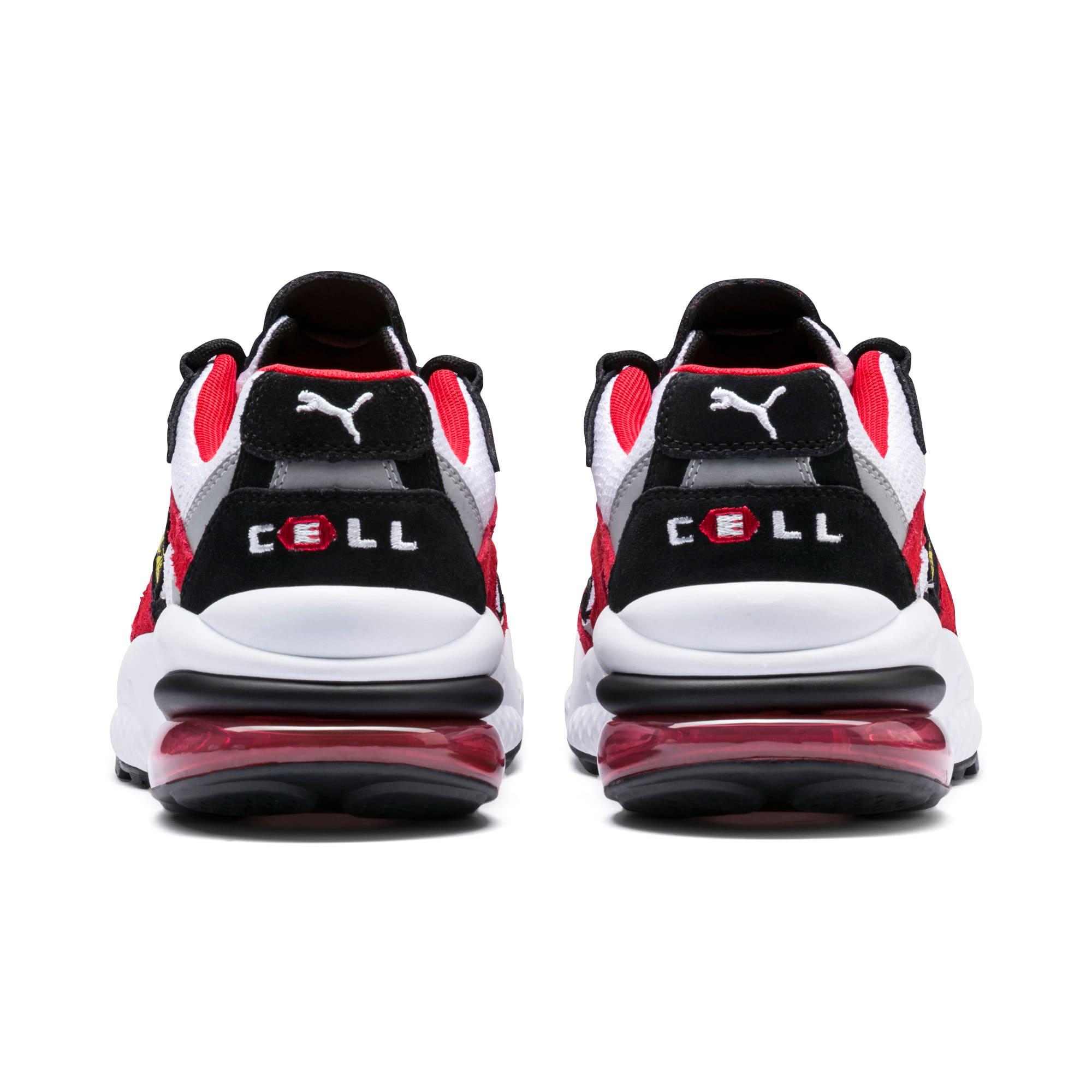 Thumbnail 3 of Scuderia Ferrari CELL Venom Sneakers, Puma White-Rosso Corsa, medium