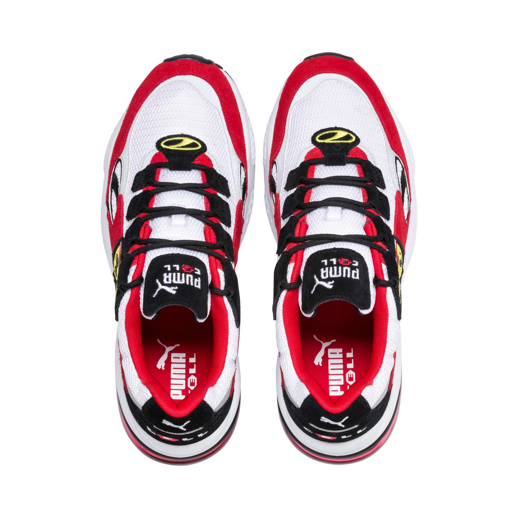 Thumbnail 6 of Scuderia Ferrari CELL Venom Sneakers, Puma White-Rosso Corsa, medium