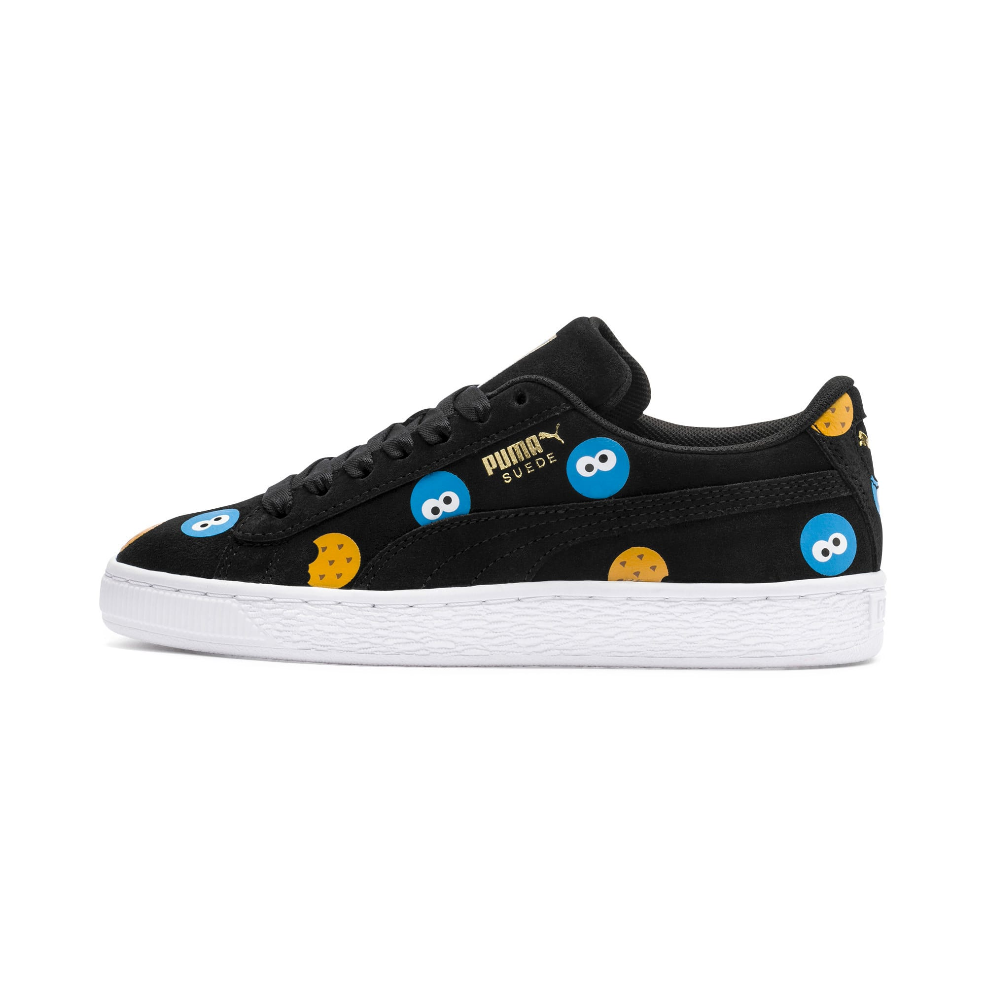 newest collection 8c34f 46736 PUMA x SESAME STREET 50 Suede Badge Sneakers JR