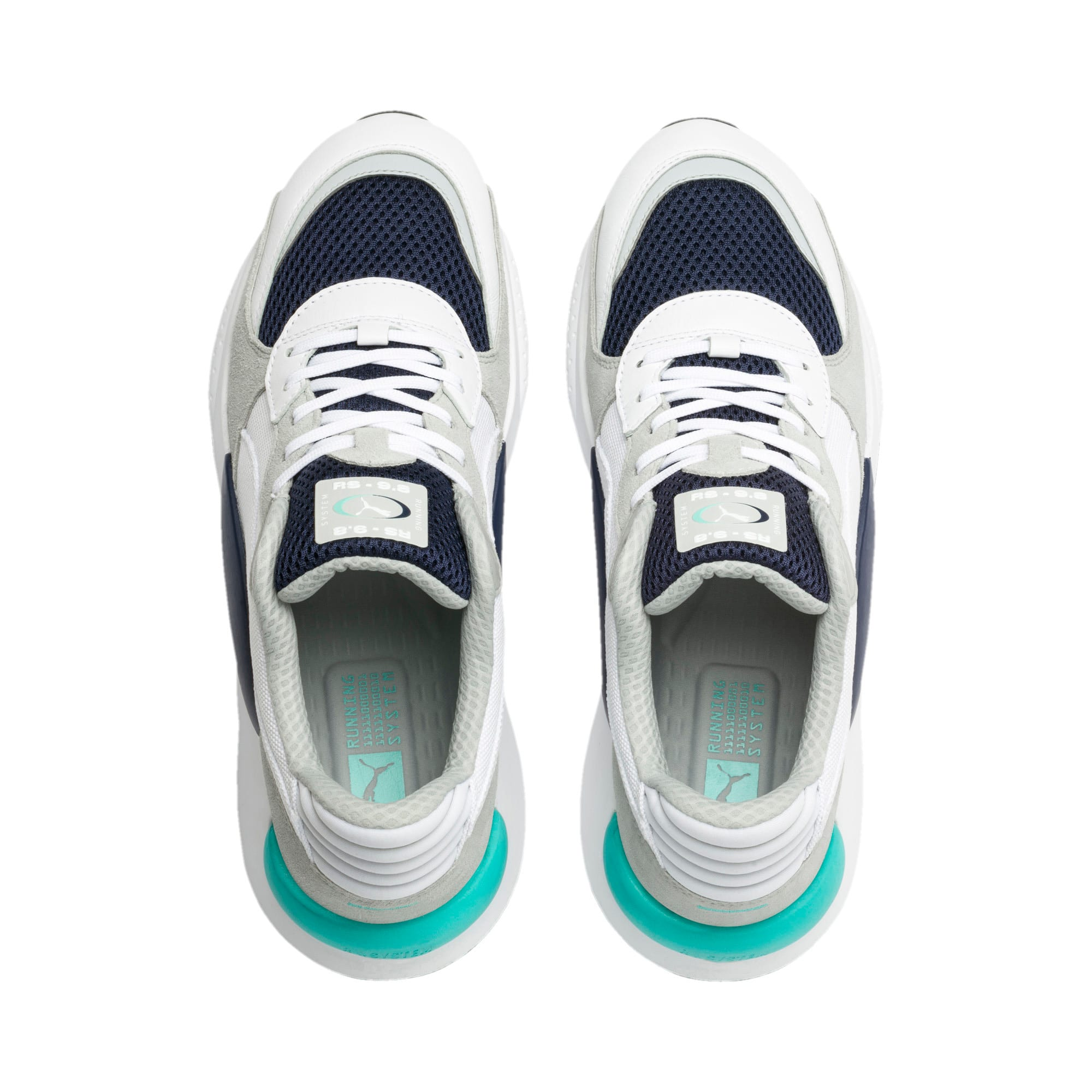 RS 9.8 Cosmic Trainers, Puma White-Peacoat, large