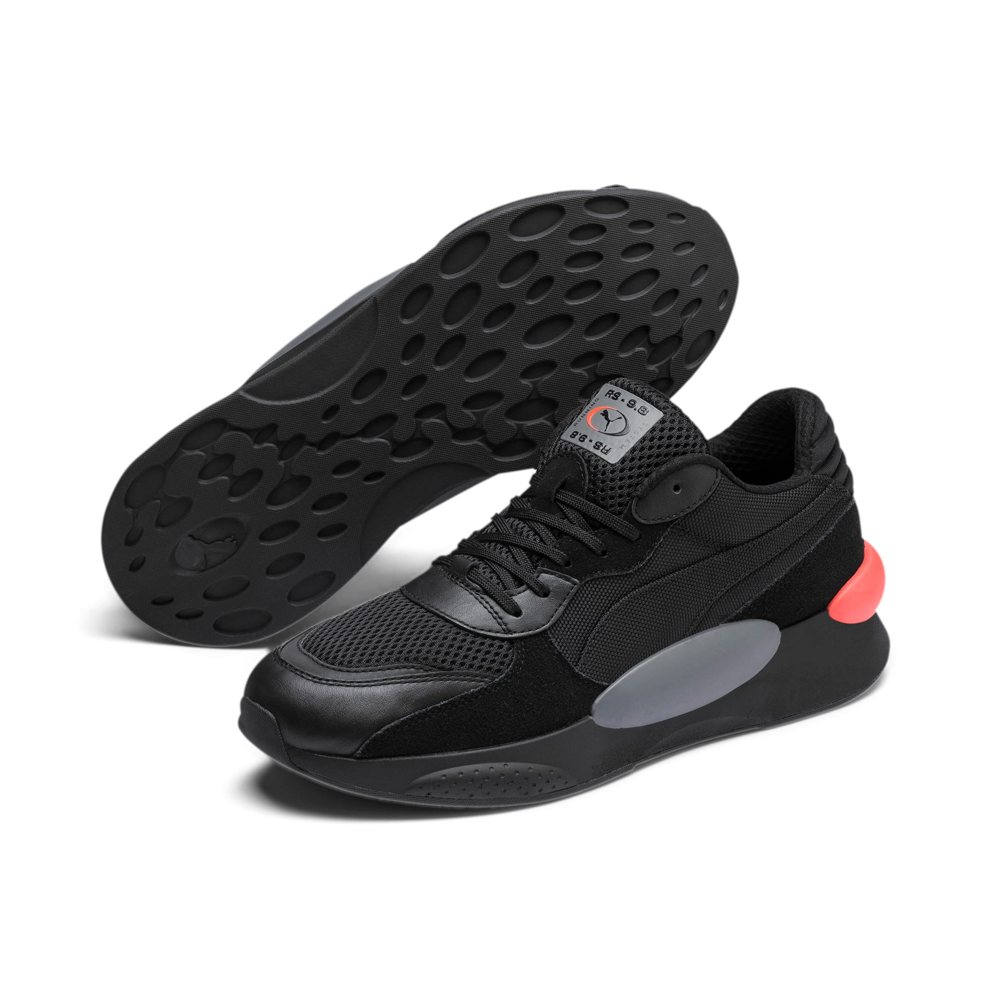 Thumbnail 2 of RS 9.8 Cosmic Trainers, Puma Black, medium