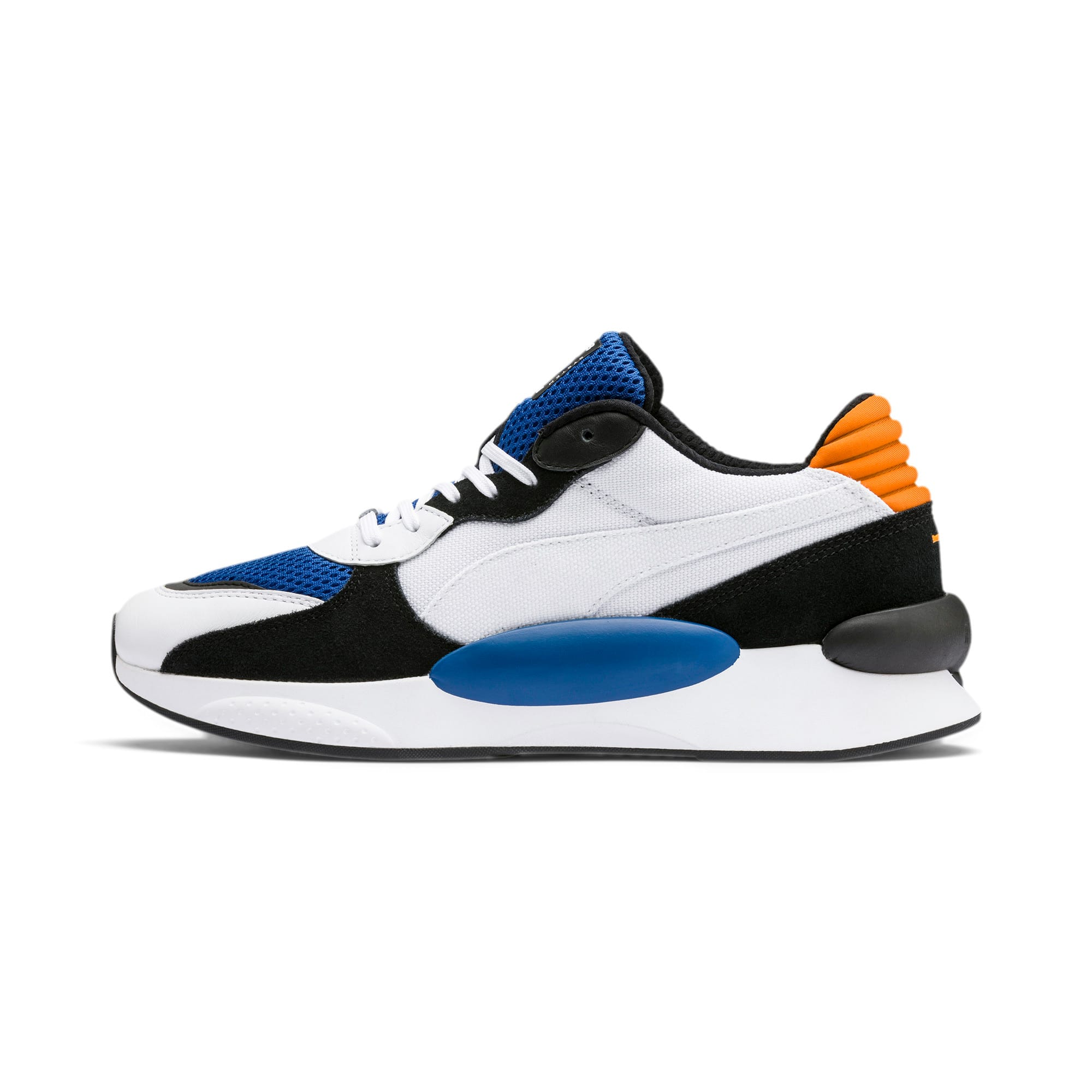 Thumbnail 1 of RS 9.8 Cosmic Trainers, Puma White-Galaxy Blue, medium