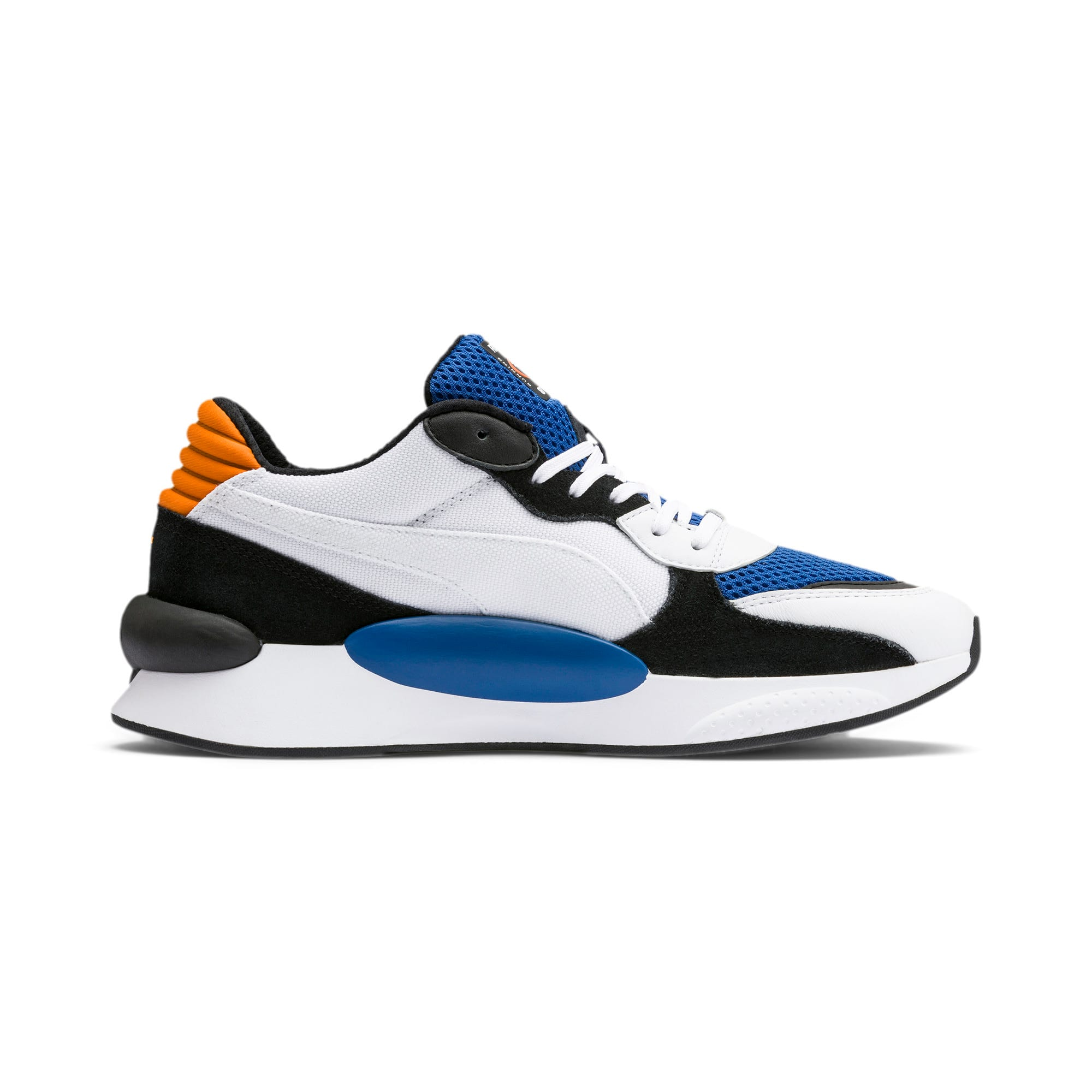 Thumbnail 6 of RS 9.8 Cosmic Trainers, Puma White-Galaxy Blue, medium