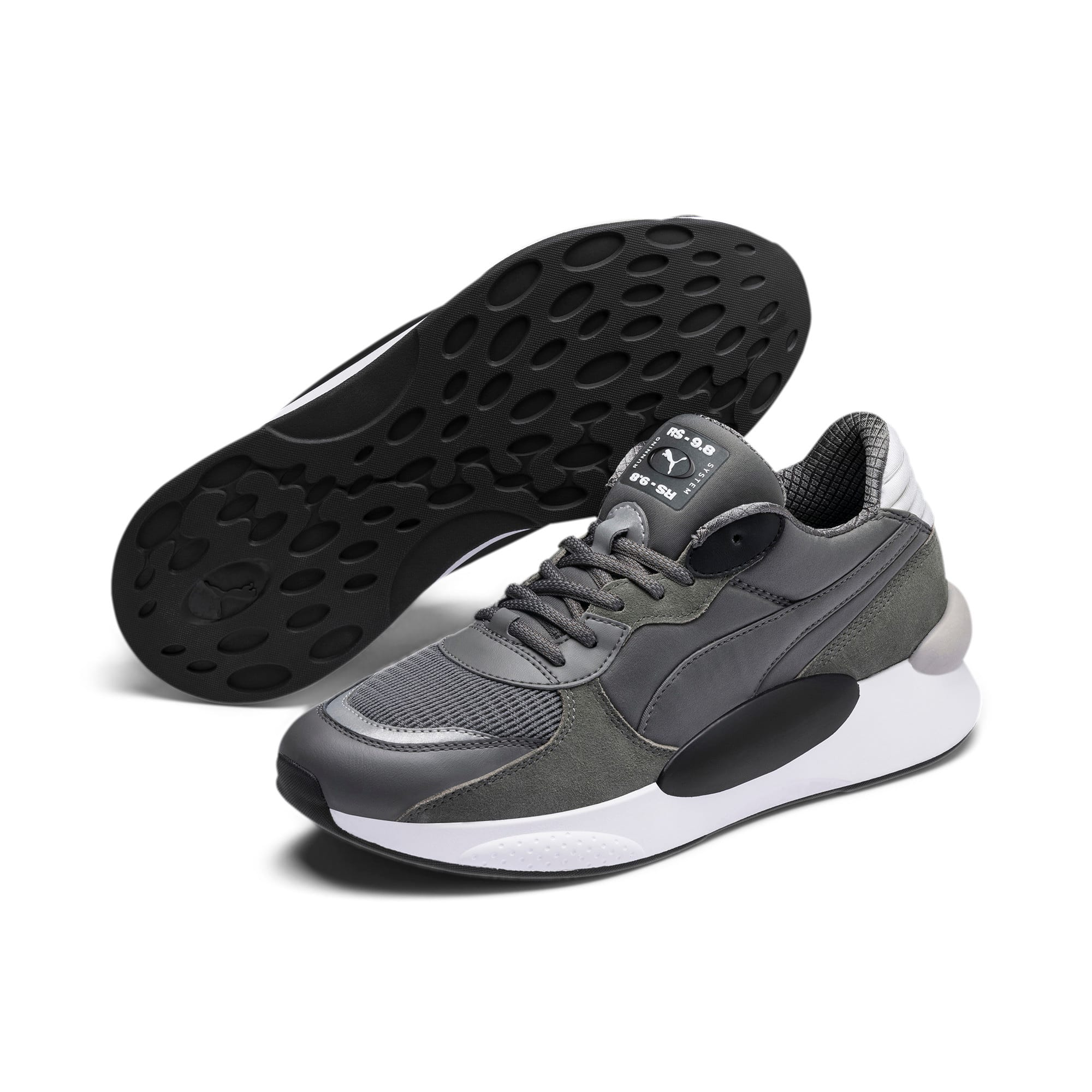 Thumbnail 2 of RS 9.8 Gravity Trainers, CASTLEROCK-Puma Black, medium