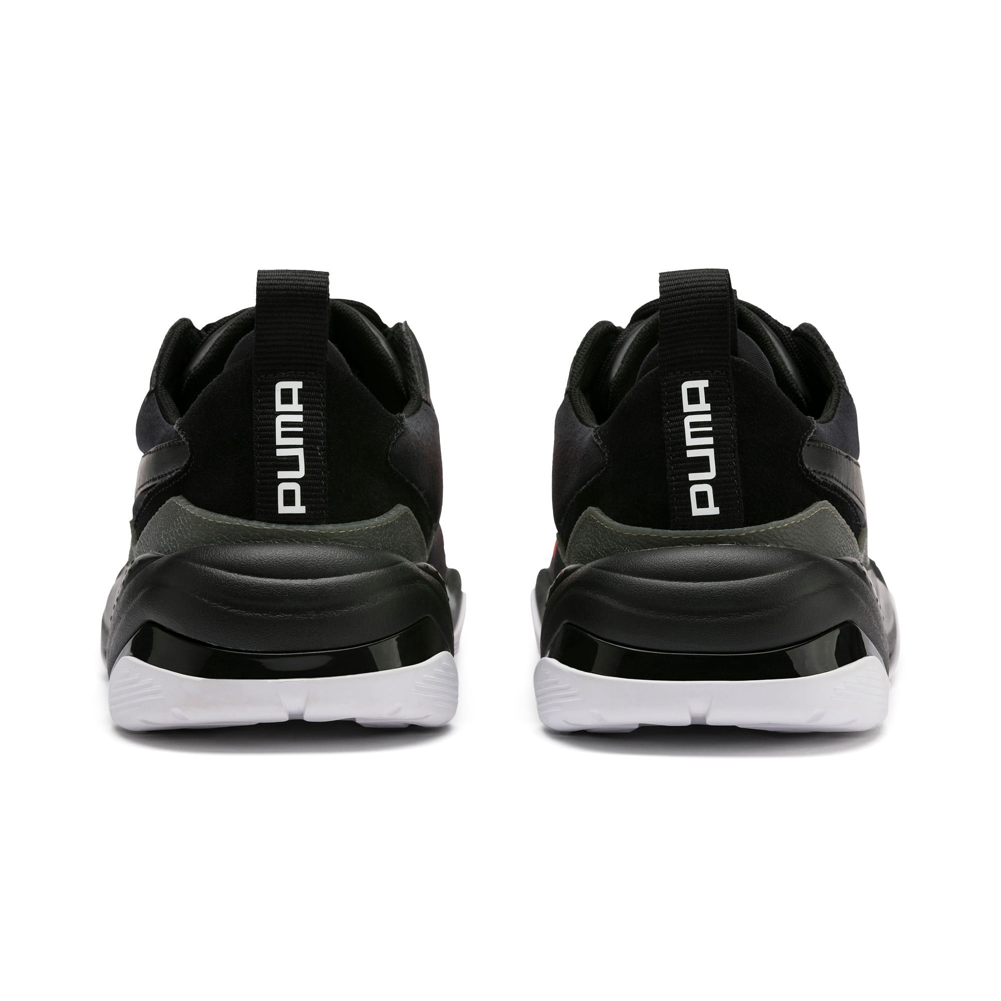Thumbnail 4 of Thunder Fashion 2.0 Trainers, Puma Black-Nrgy Red, medium