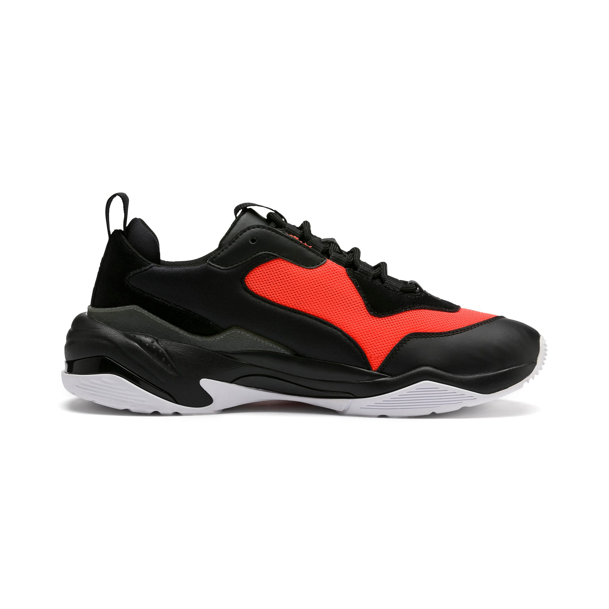 Thumbnail 6 of Thunder Fashion 2.0 Trainers, Puma Black-Nrgy Red, medium