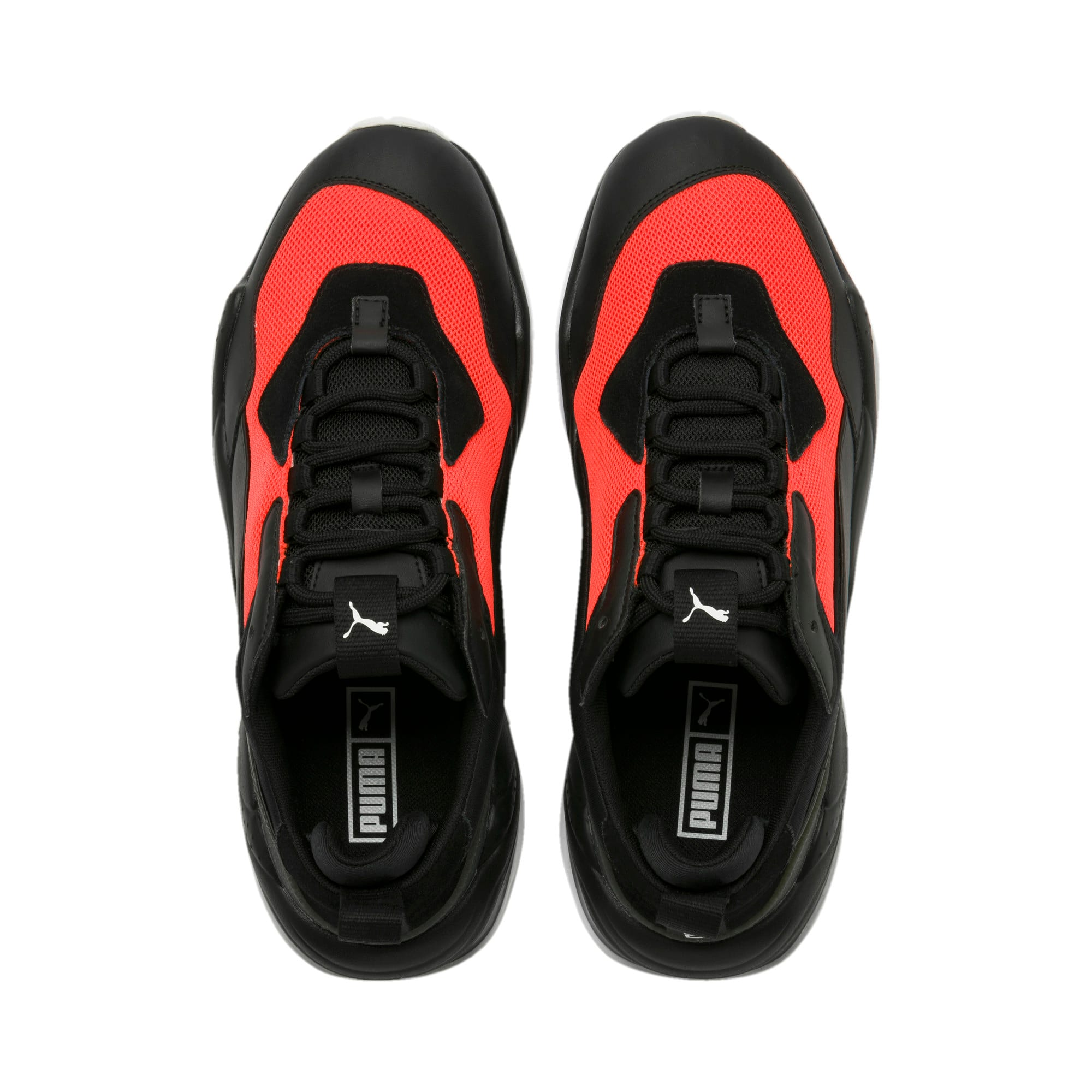 Thumbnail 7 of Thunder Fashion 2.0 Trainers, Puma Black-Nrgy Red, medium