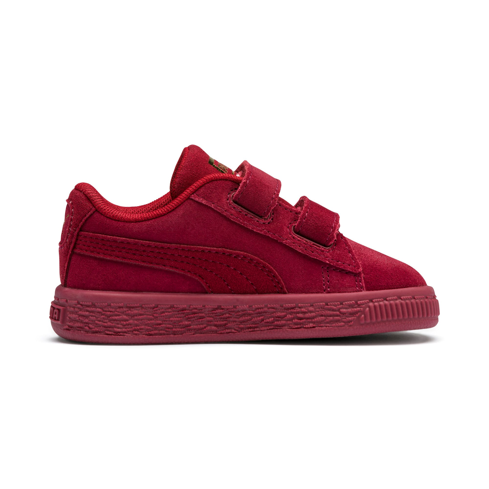 Thumbnail 5 of Sesame Street 50 Suede Statement Babies' Trainers, Rhubarb-Puma White, medium