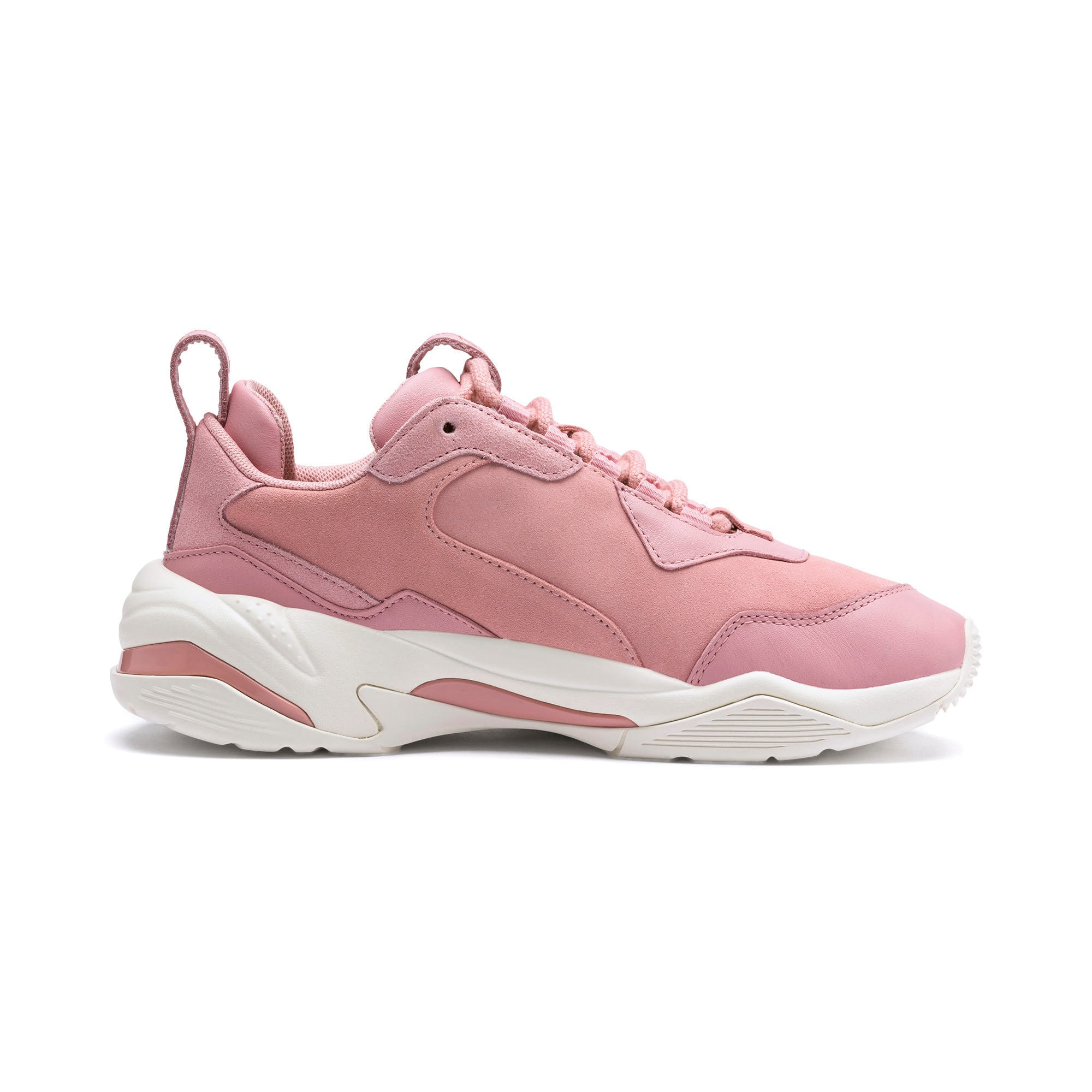 Thunder Fire Rose Women's Sneakers, Bridal Rose-Puma Team Gold, large