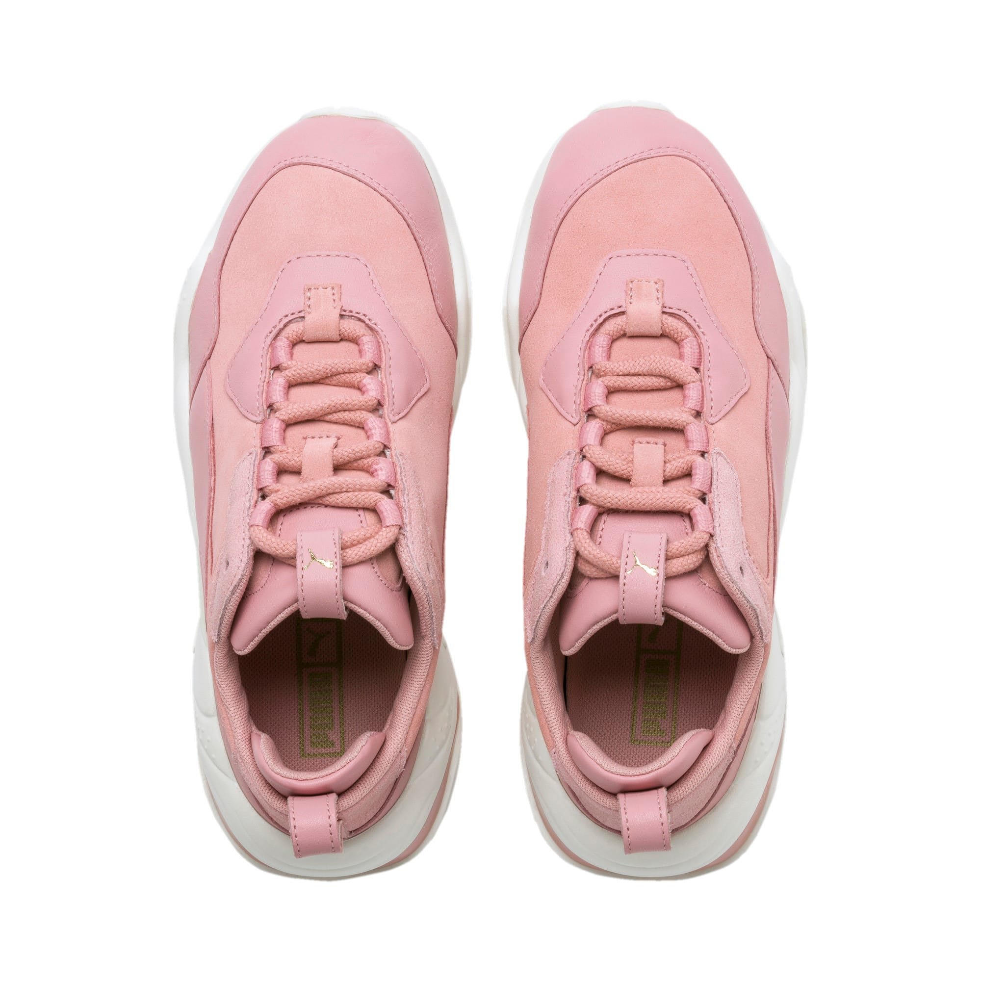 Thumbnail 7 of Thunder Fire Rose Women's Trainers, Bridal Rose-Puma Team Gold, medium