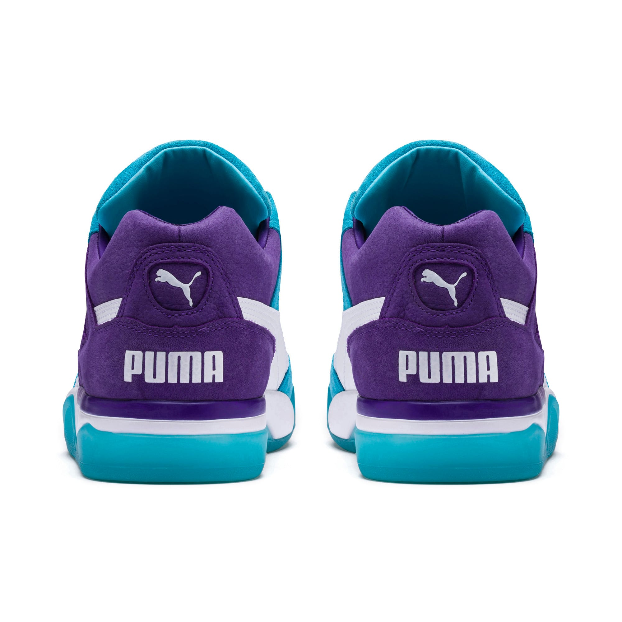 Thumbnail 3 of Palace Guard Queen City Sneakers, Blue Atoll-Prism Violet, medium