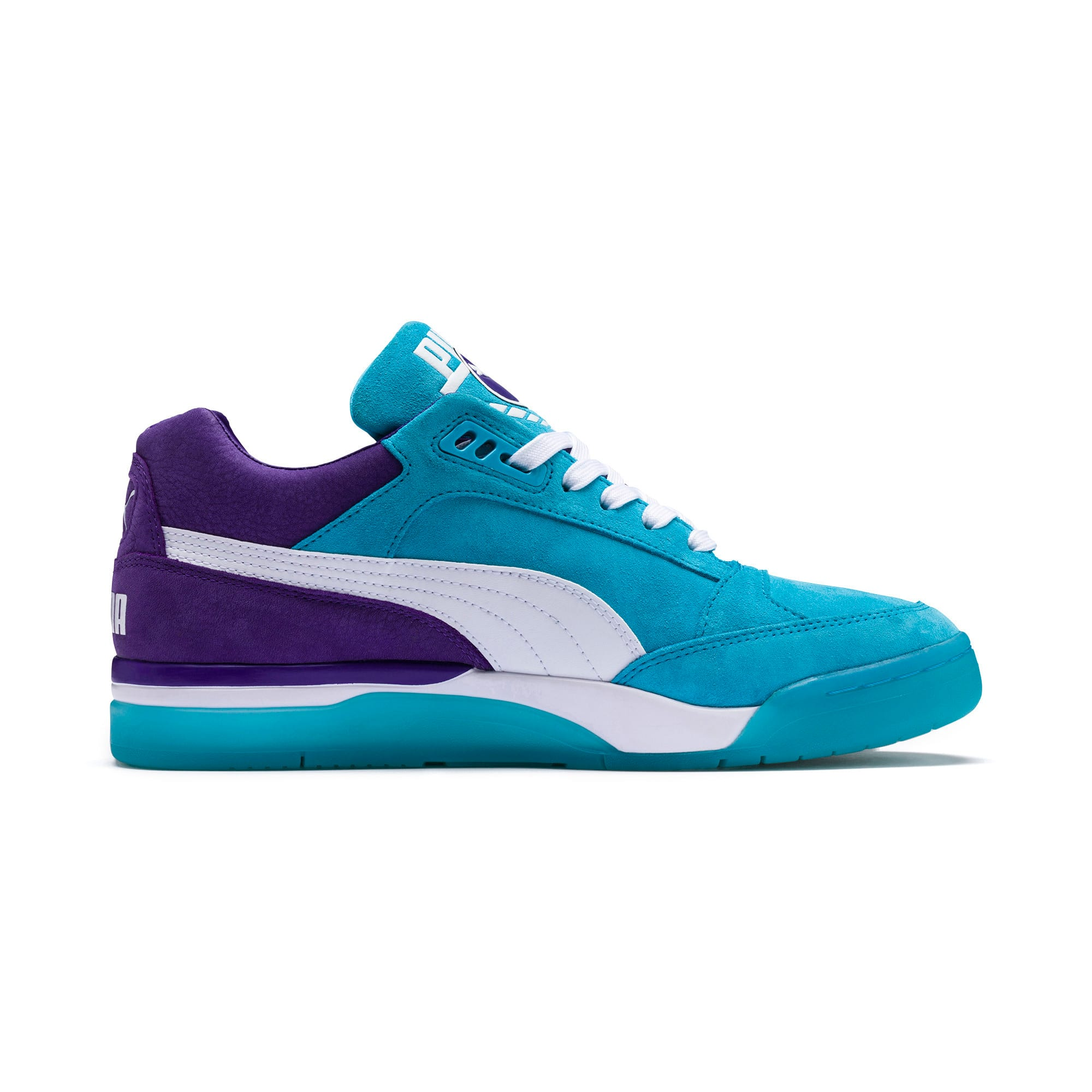 Thumbnail 5 of Palace Guard Queen City Sneakers, Blue Atoll-Prism Violet, medium