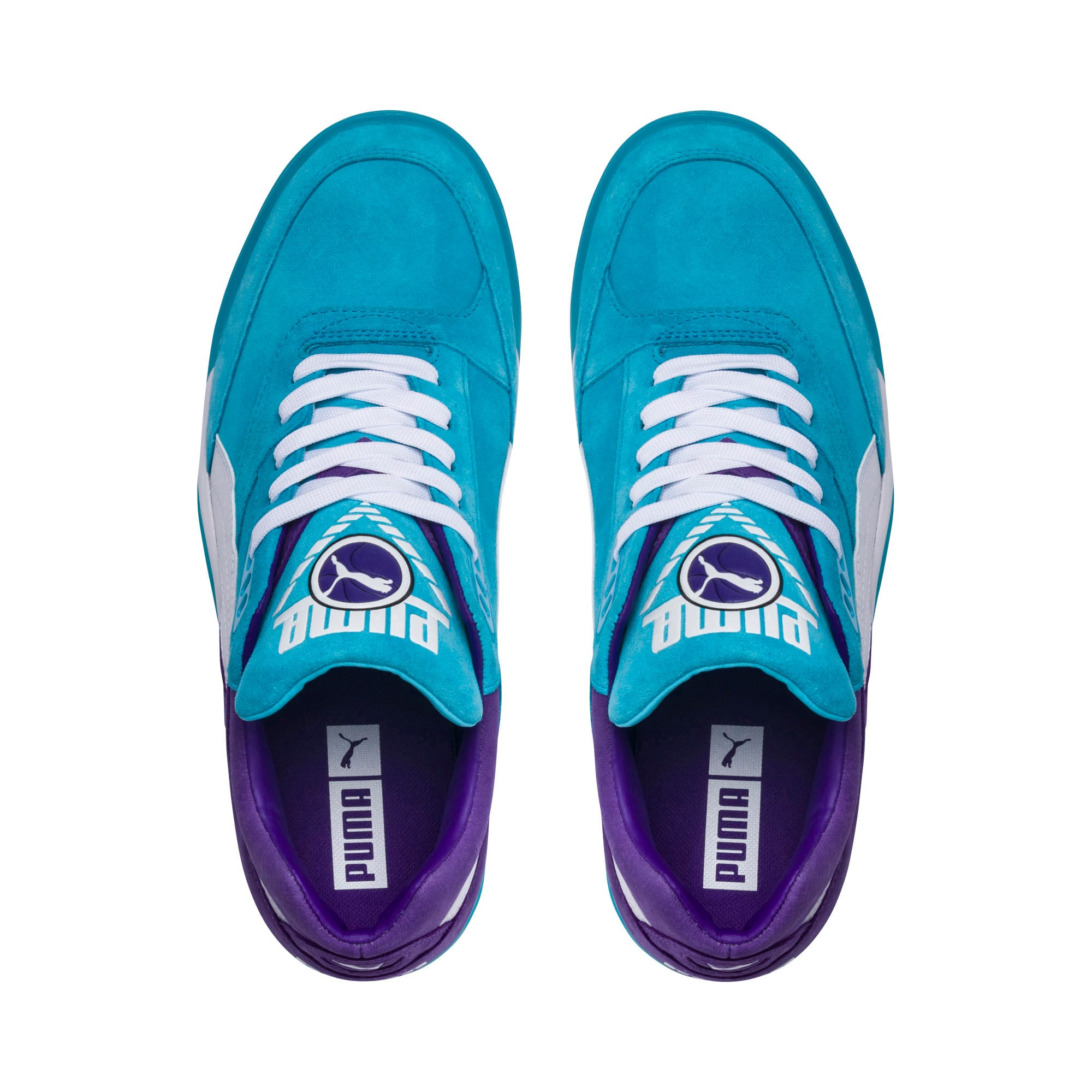 Thumbnail 6 of Palace Guard Queen City Sneakers, Blue Atoll-Prism Violet, medium