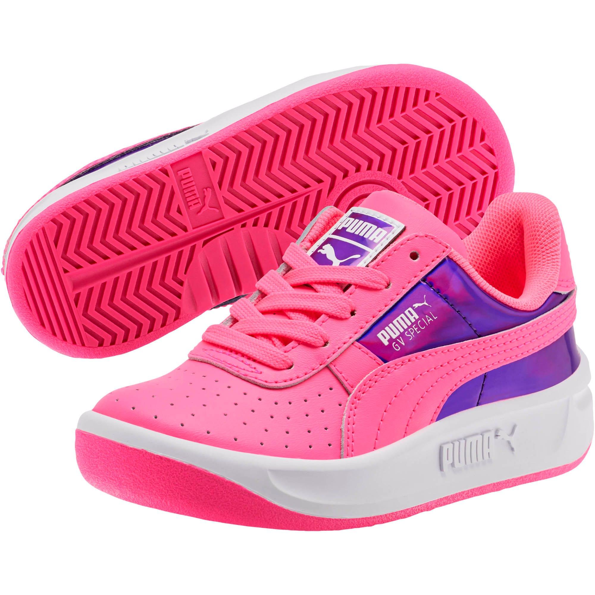 Miniatura 2 de Zapatos GV Special Mirror Metal para niña pequeña, KNOCKOUT PINK-Puma White, mediano
