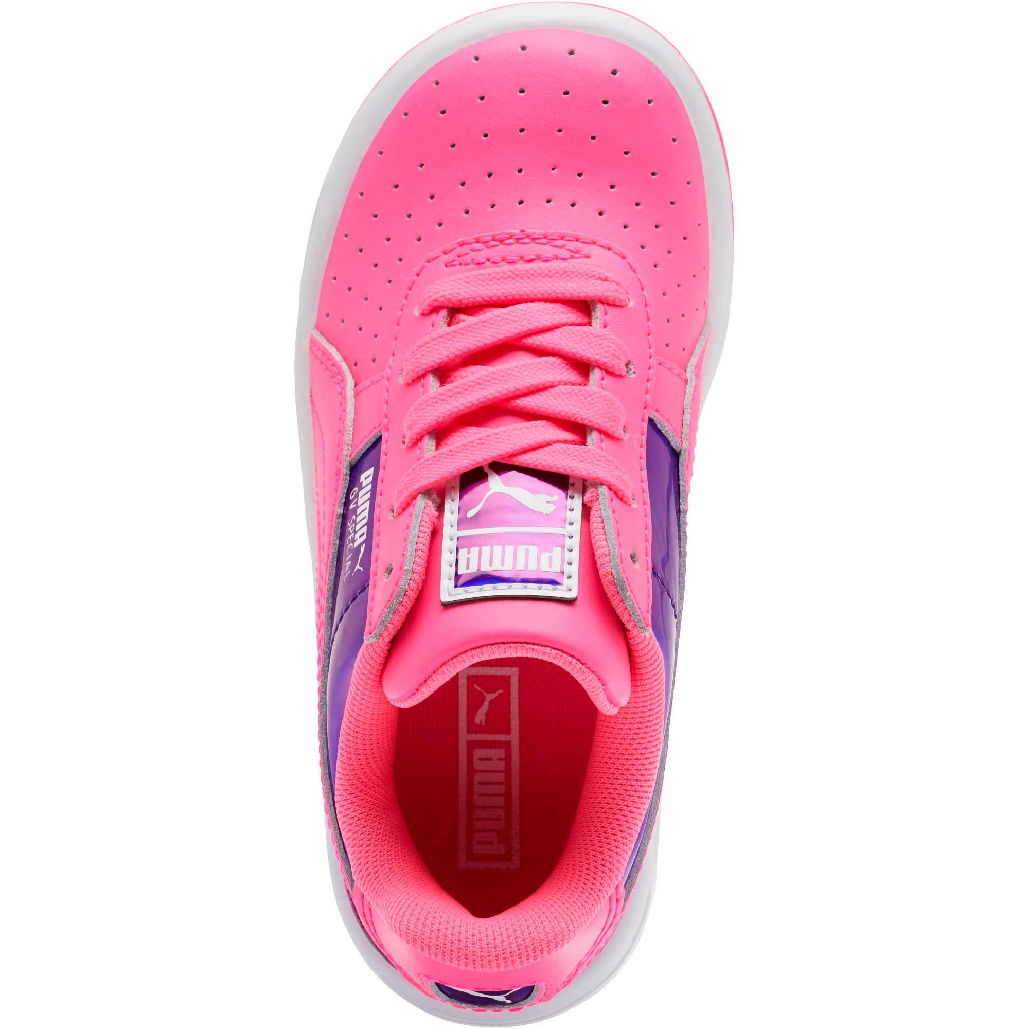 Miniatura 5 de Zapatos GV Special Mirror Metal para niña pequeña, KNOCKOUT PINK-Puma White, mediano