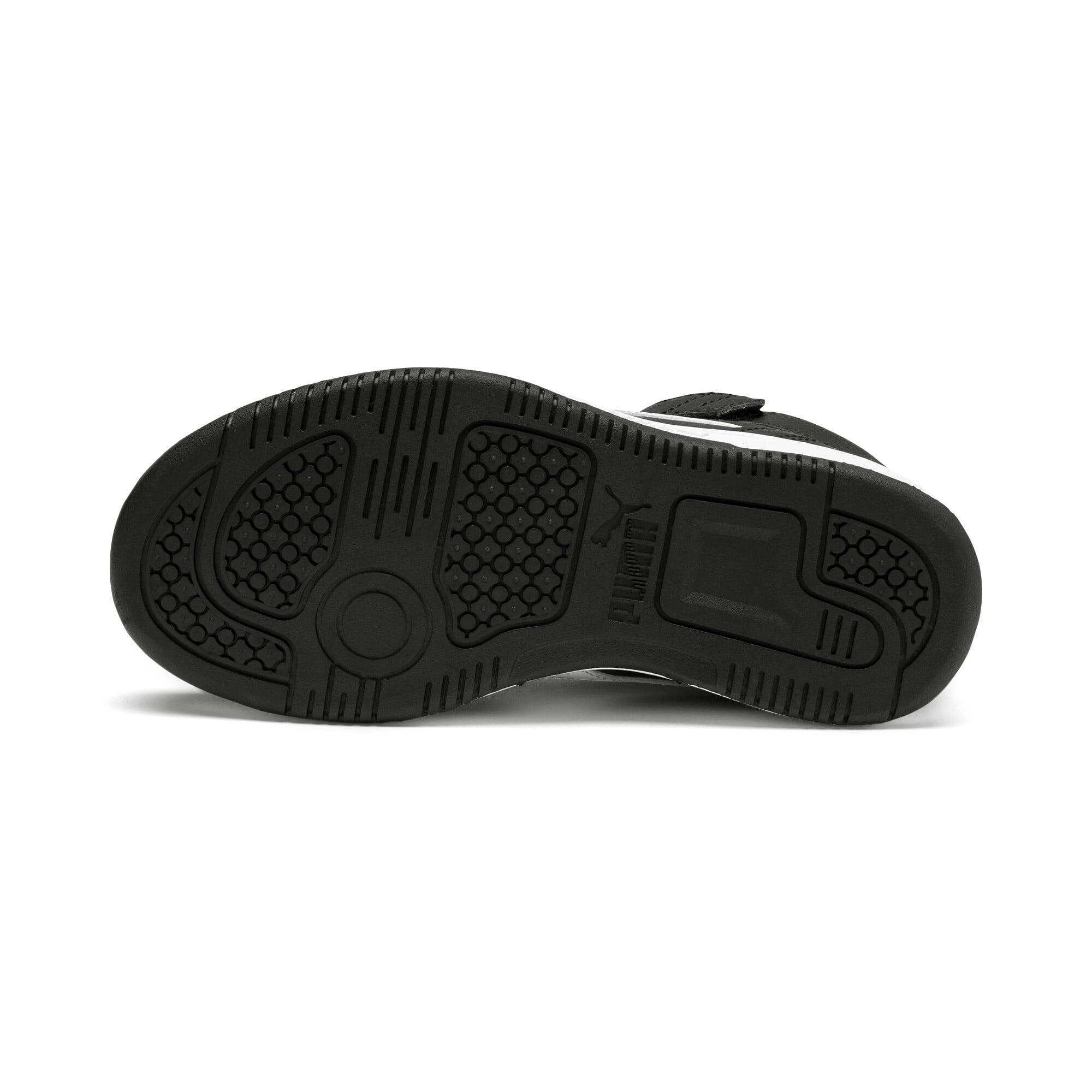 Thumbnail 4 of PUMA Rebound LayUp Little Kids' Shoes, Puma Black-Puma White, medium