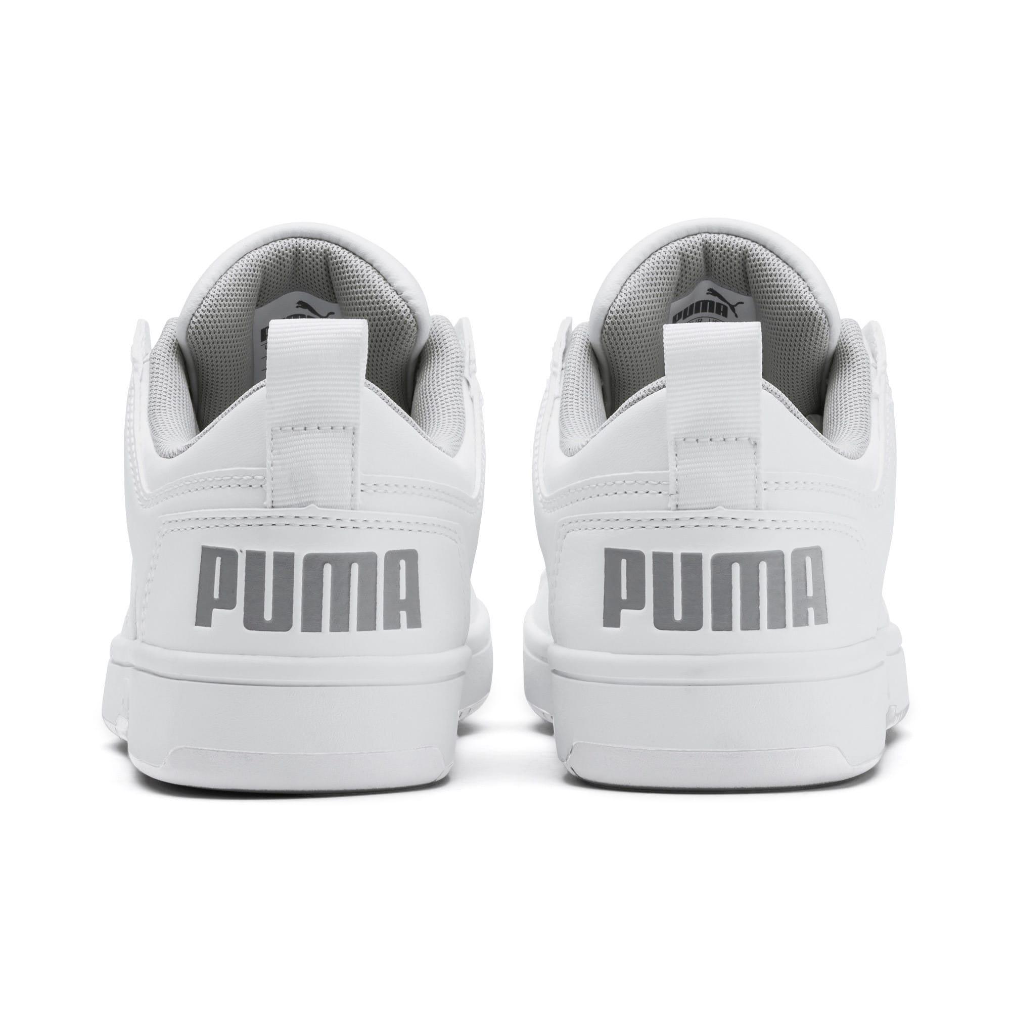 Thumbnail 3 of PUMA Rebound LayUp Lo Sneakers JR, Puma White-High Rise, medium
