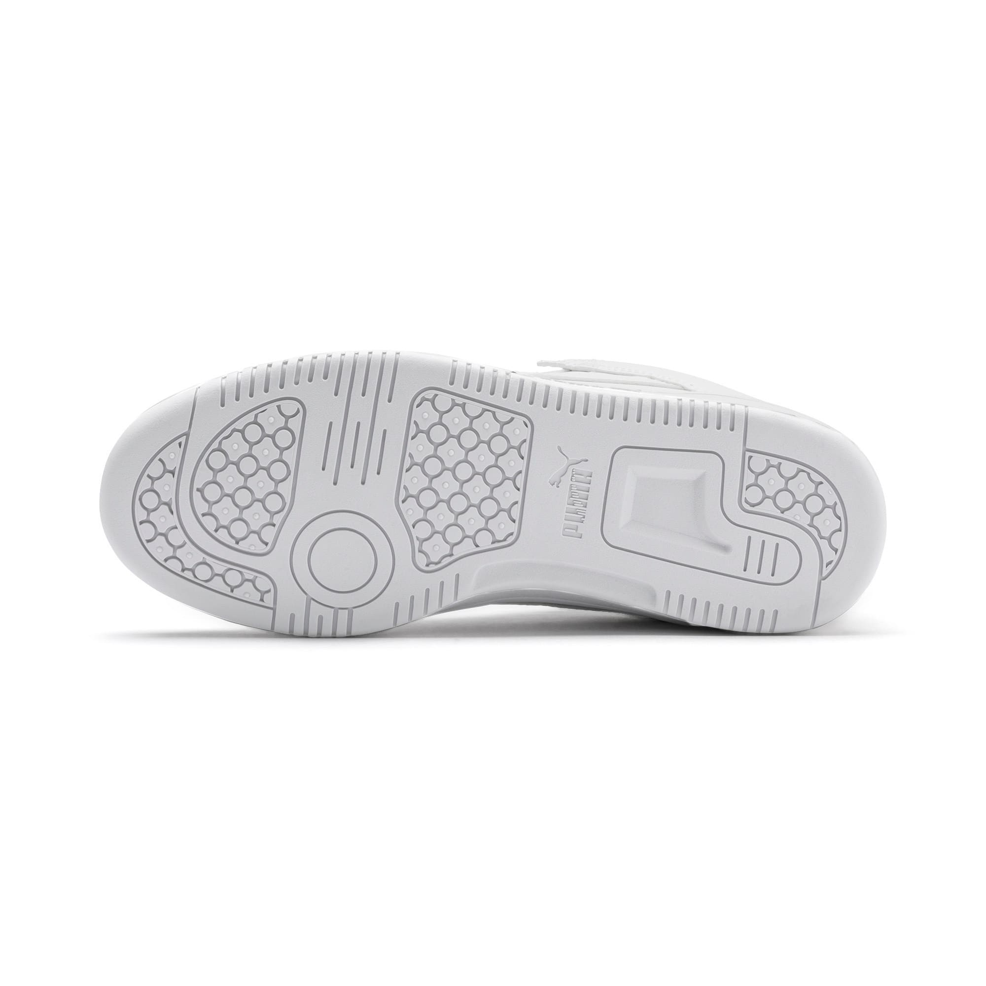 Thumbnail 4 of PUMA Rebound LayUp Lo Sneakers JR, Puma White-High Rise, medium