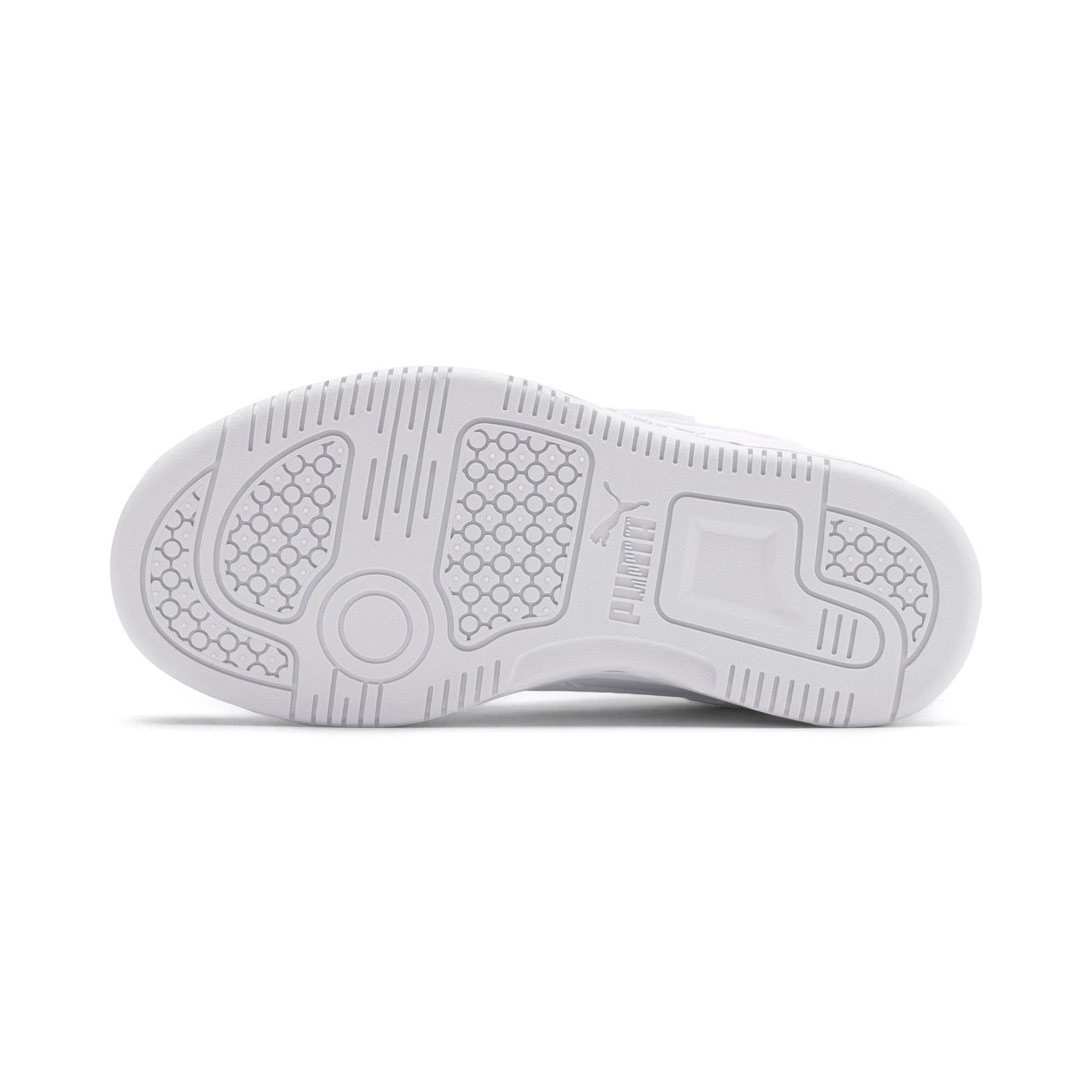 Thumbnail 4 of PUMA Rebound LayUp Lo Little Kids' Shoes, Puma White-High Rise, medium